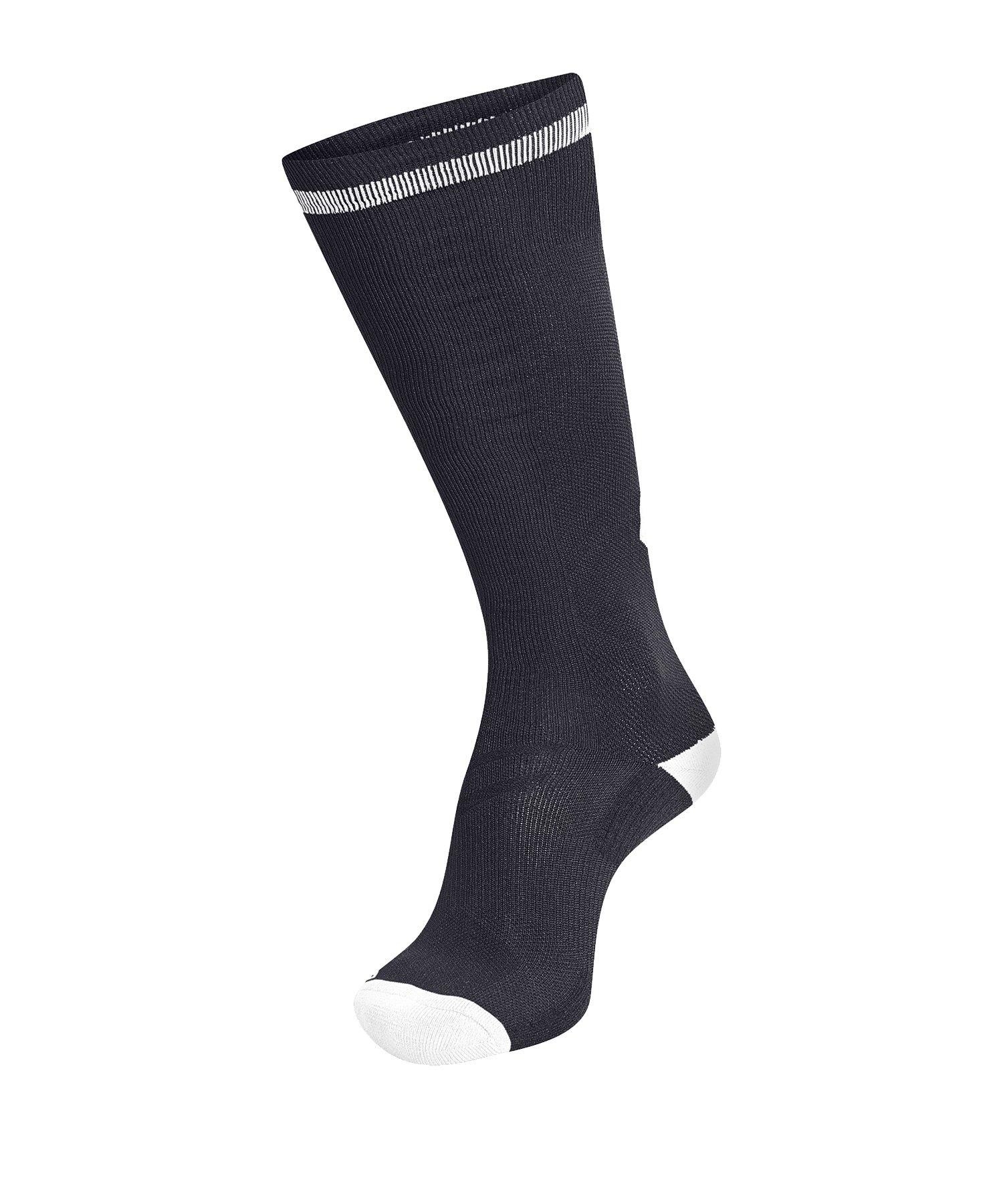 Hummel Elite Indoor Sock High Socken Schwarz F2114 - Schwarz