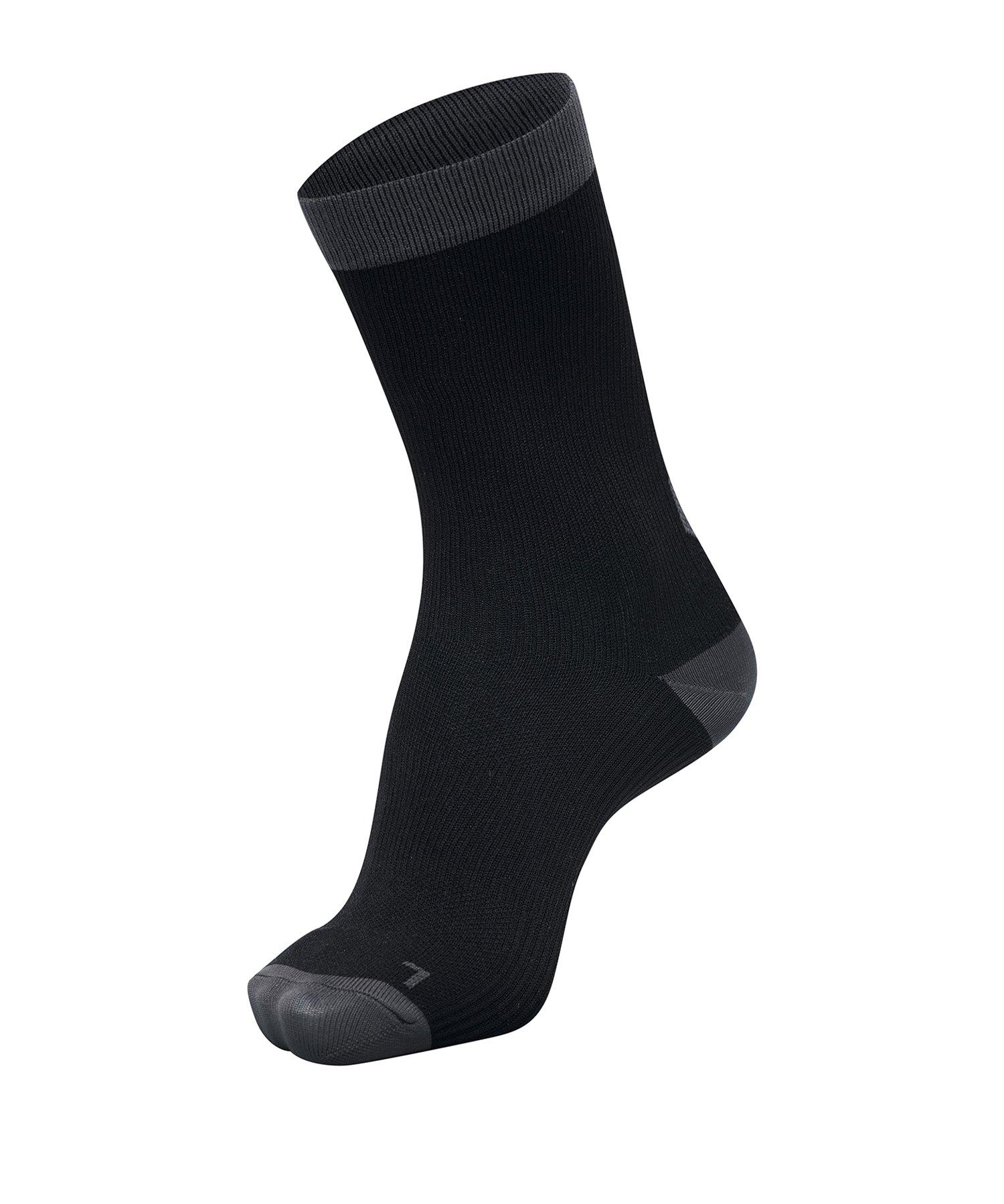 Hummel Element Performance Socken 2er Pack F1006 - Schwarz