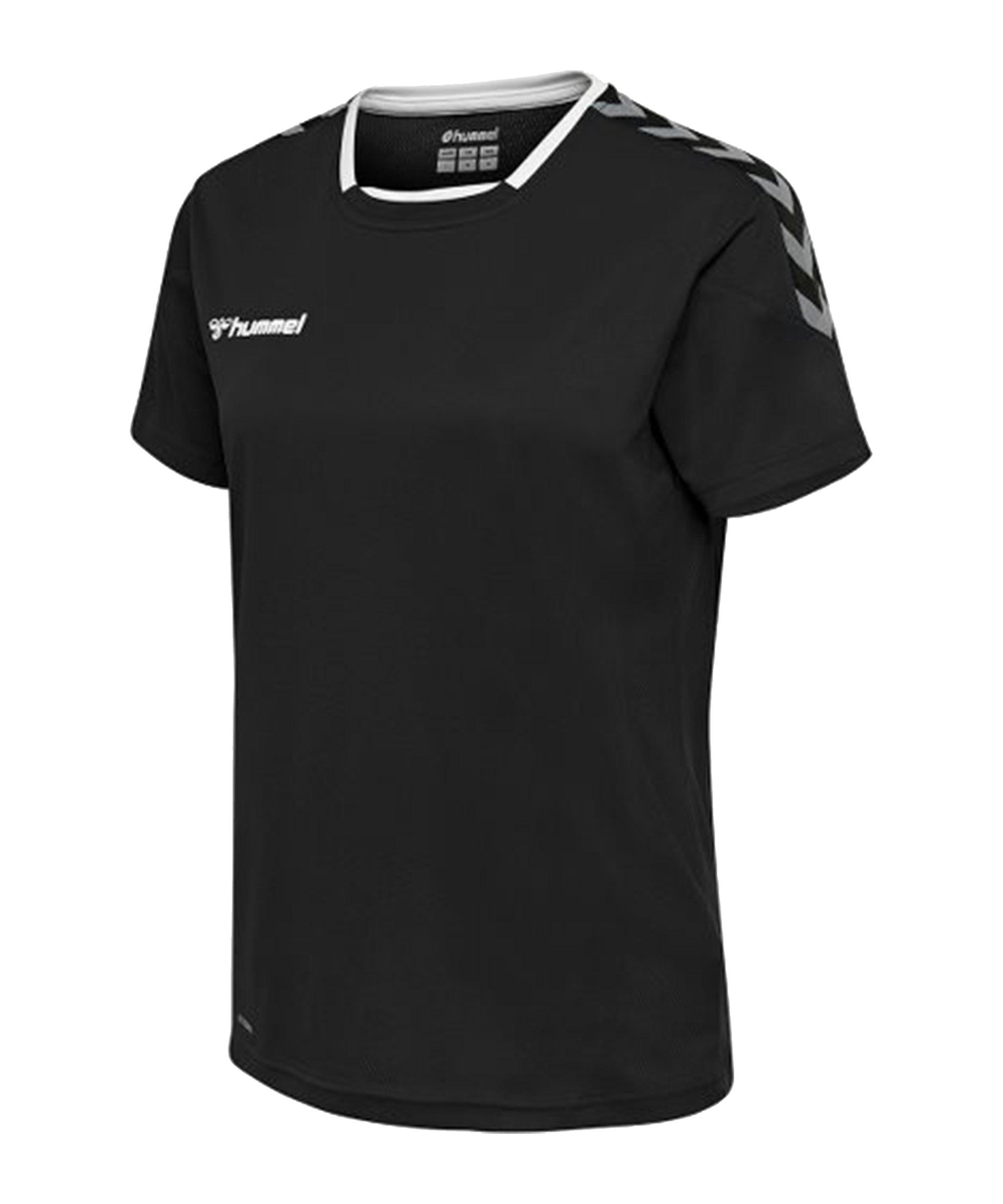 Hummel Authentic Poly Jersey Trikot Damen F2114 - schwarz