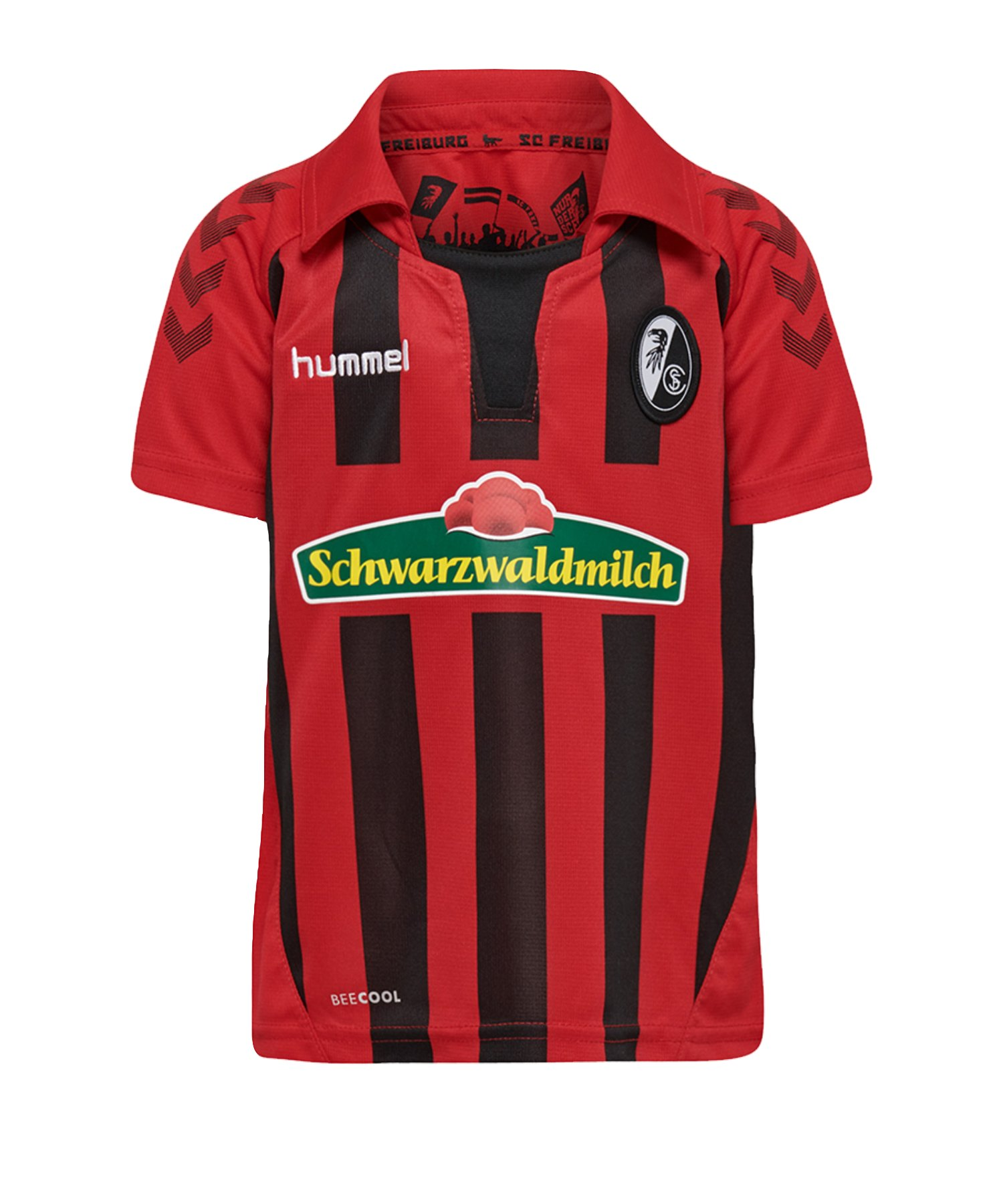 Hummel SC Freiburg Trikot Home 2019/2020 Kids Rot F3081 - rot