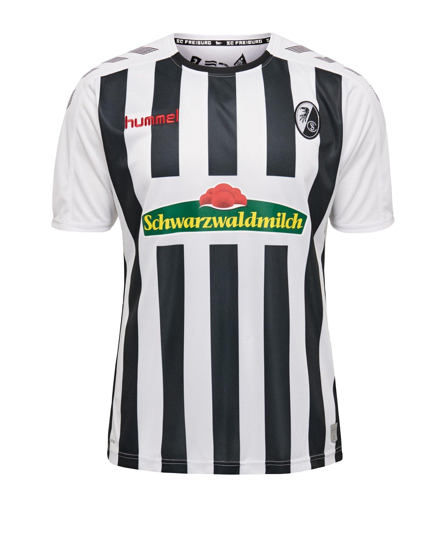 Hummel SC Freiburg Trikot Away 2019/2020 Weiss F9124 - weiss