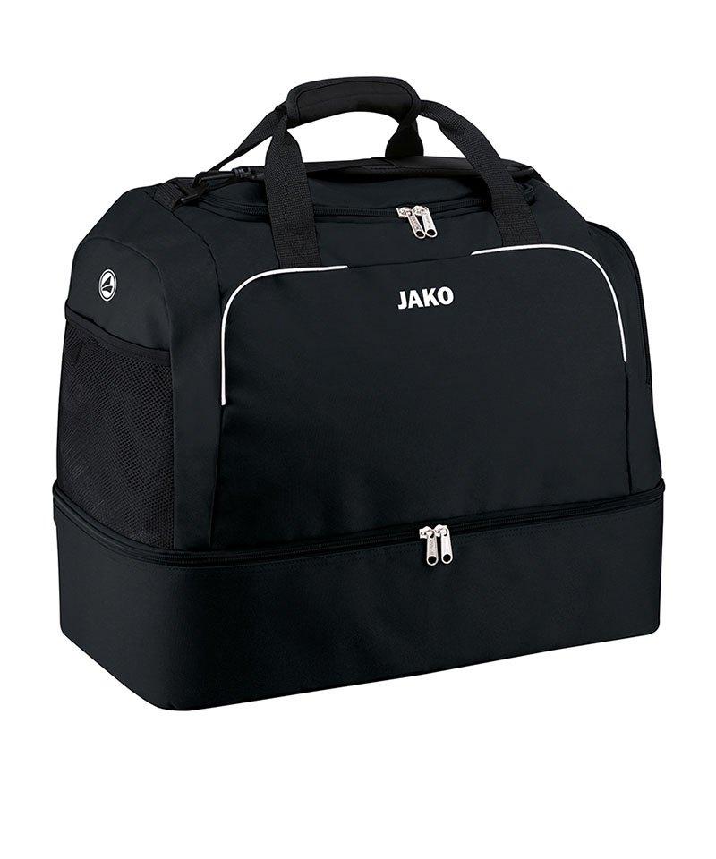 Jako Sporttasche Classico mit Bodenfach Gr. 1 F08 - schwarz