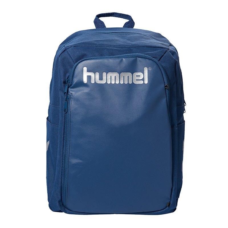 Hummel Authentic Charge Ball Rucksack Blau F8744 - Blau