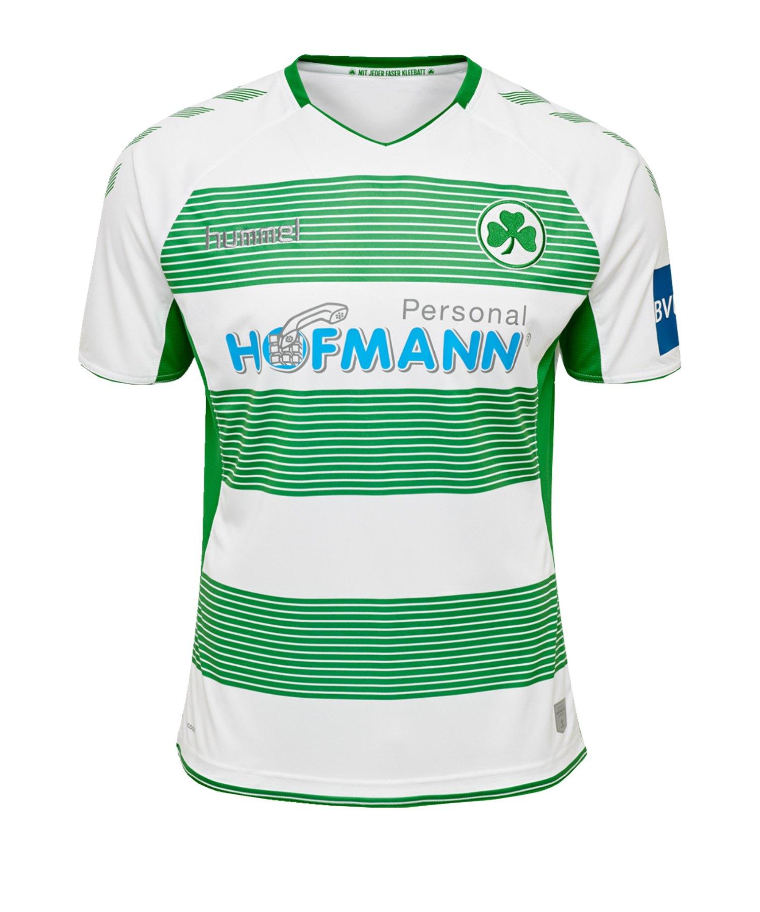 Hummel Greuther Fürth Trikot Home Kids 2019/2020 F9230 - weiss