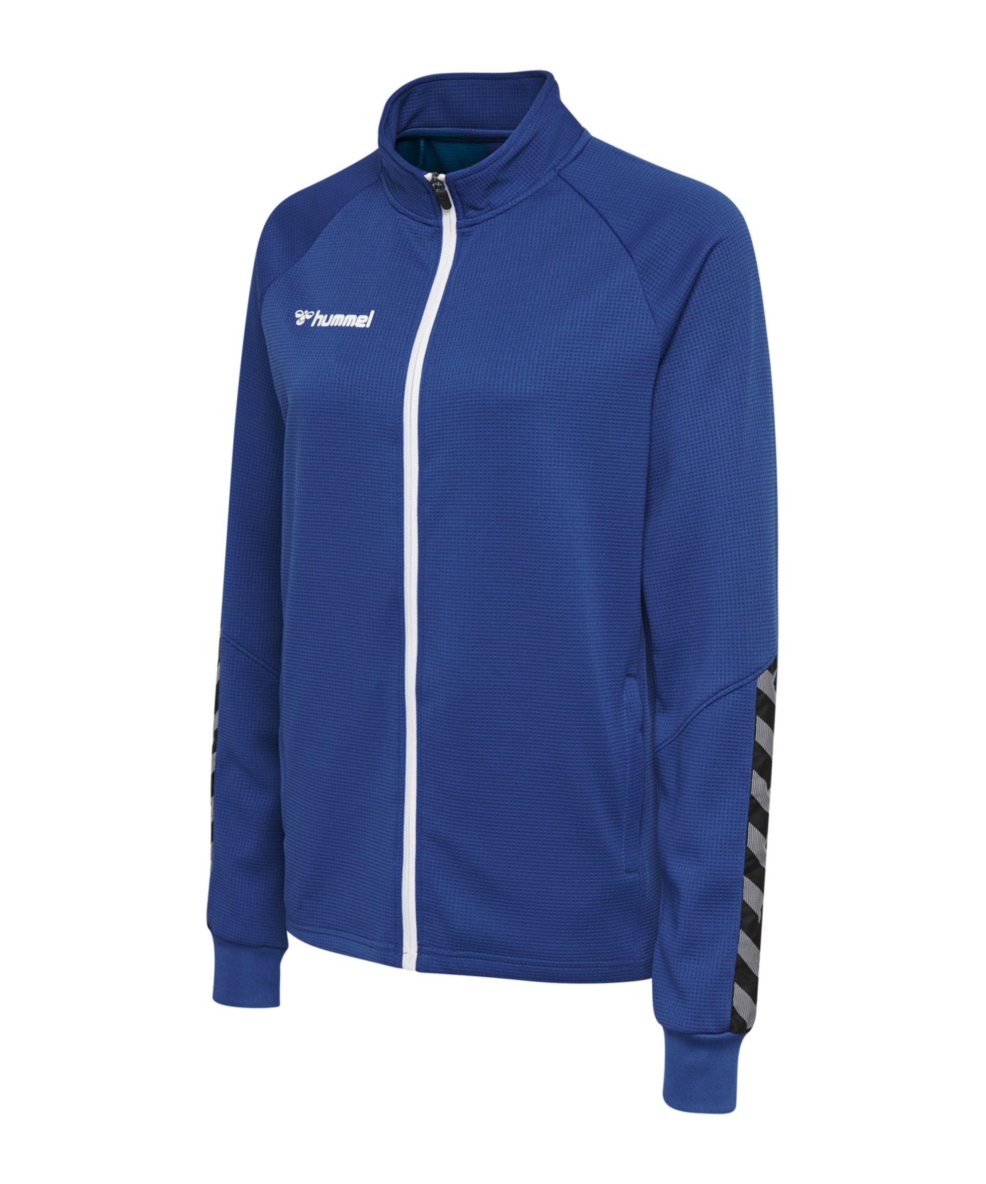 Hummel Authentic Poly Trainingsjacke Damen F7045 - blau