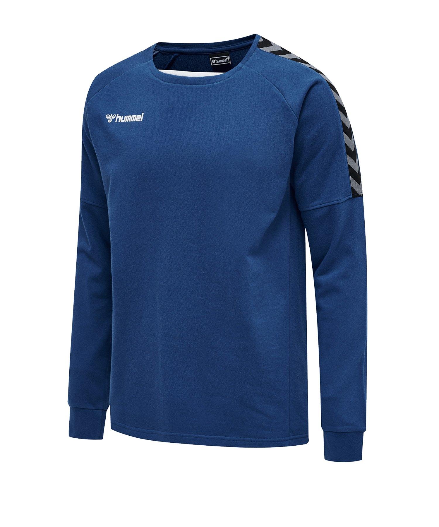 Hummel Authentic Training Sweatshirt Blau F7045 - blau