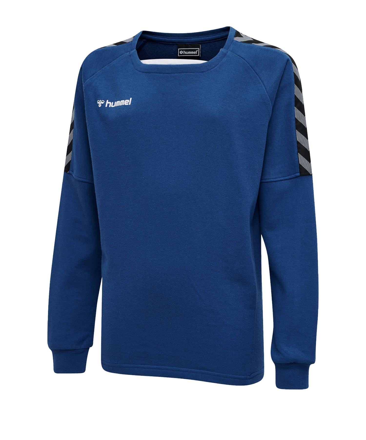 Hummel Authentic Training Sweatshirt Kids F7045 - blau