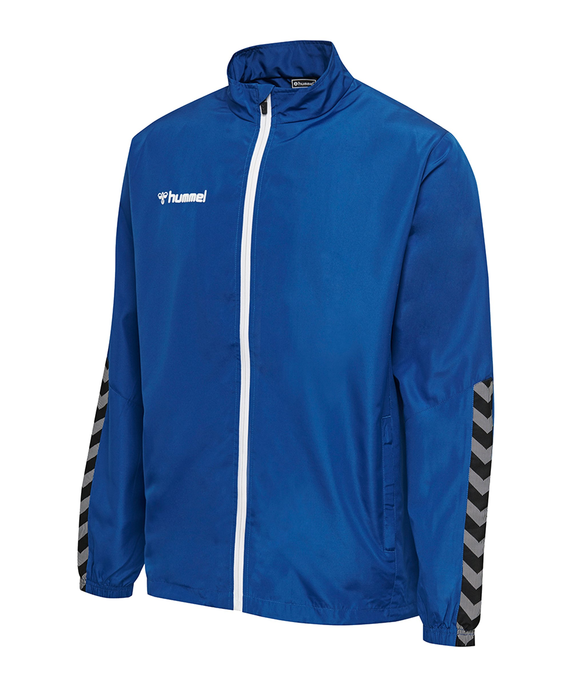 Hummel Authentic Micro Trainingsjacke F7045 - blau