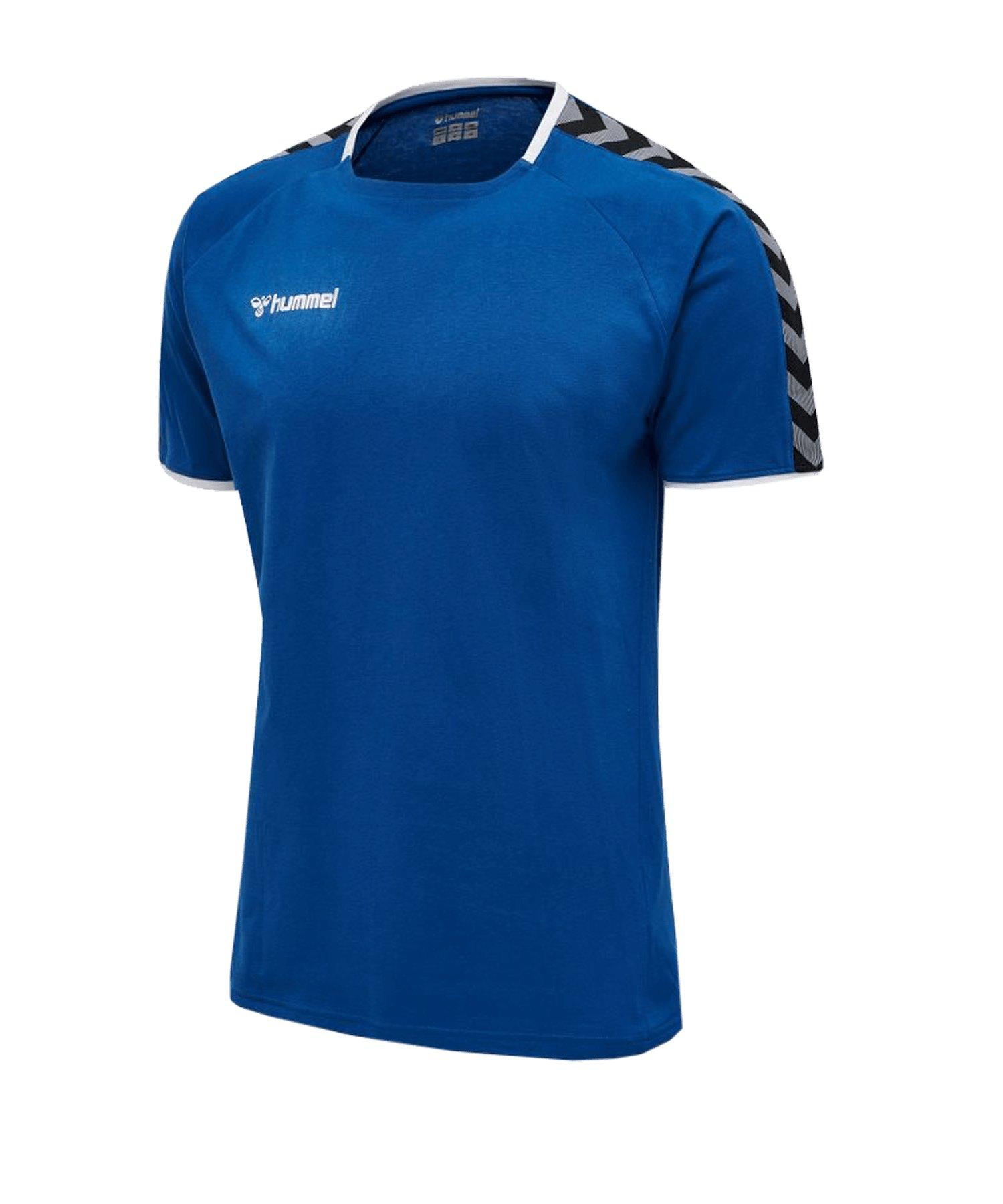 Hummel Authentic Trainingsshirt Blau F7045 - blau