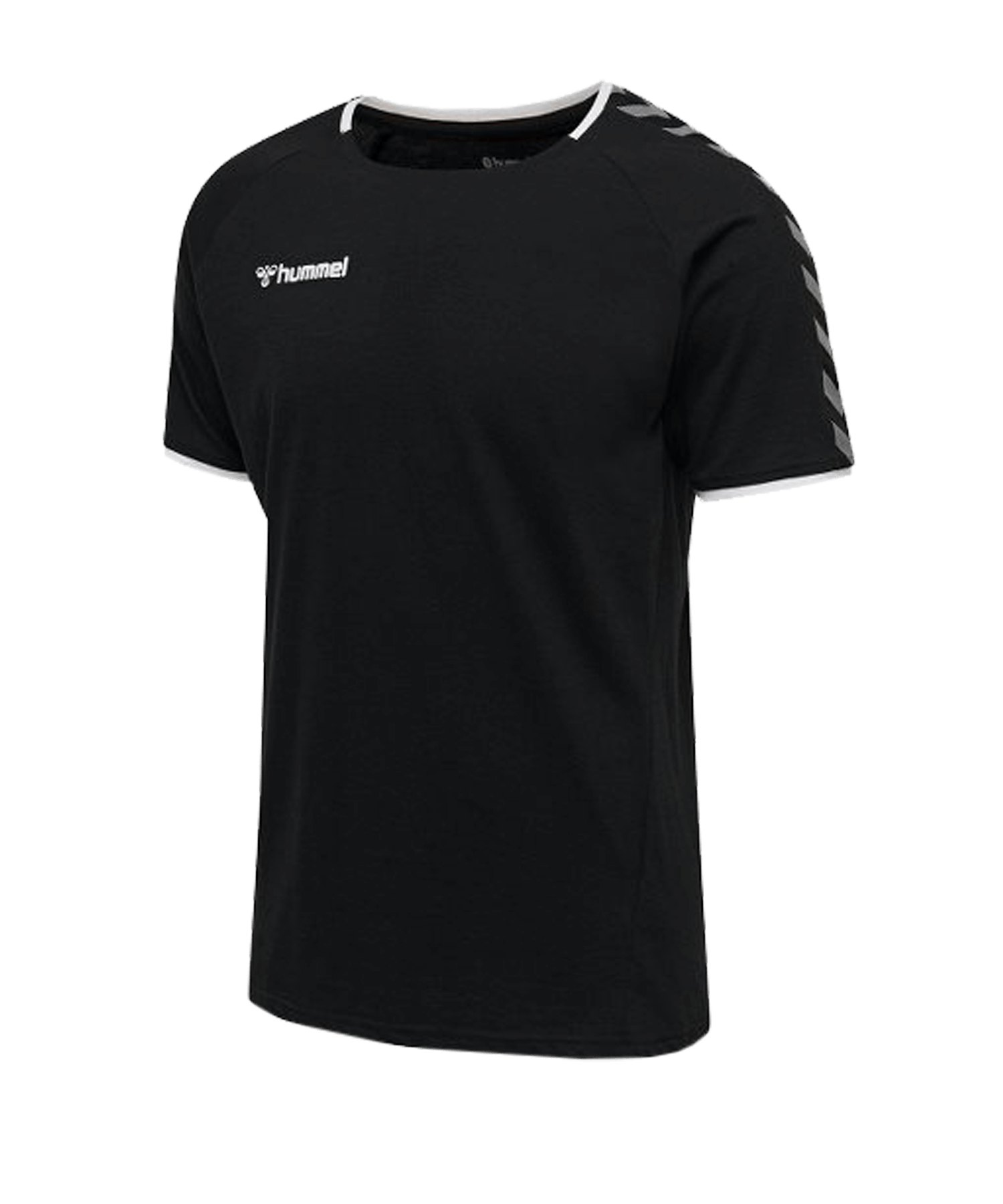 Hummel Authentic Trainingsshirt Schwarz F2114 - schwarz