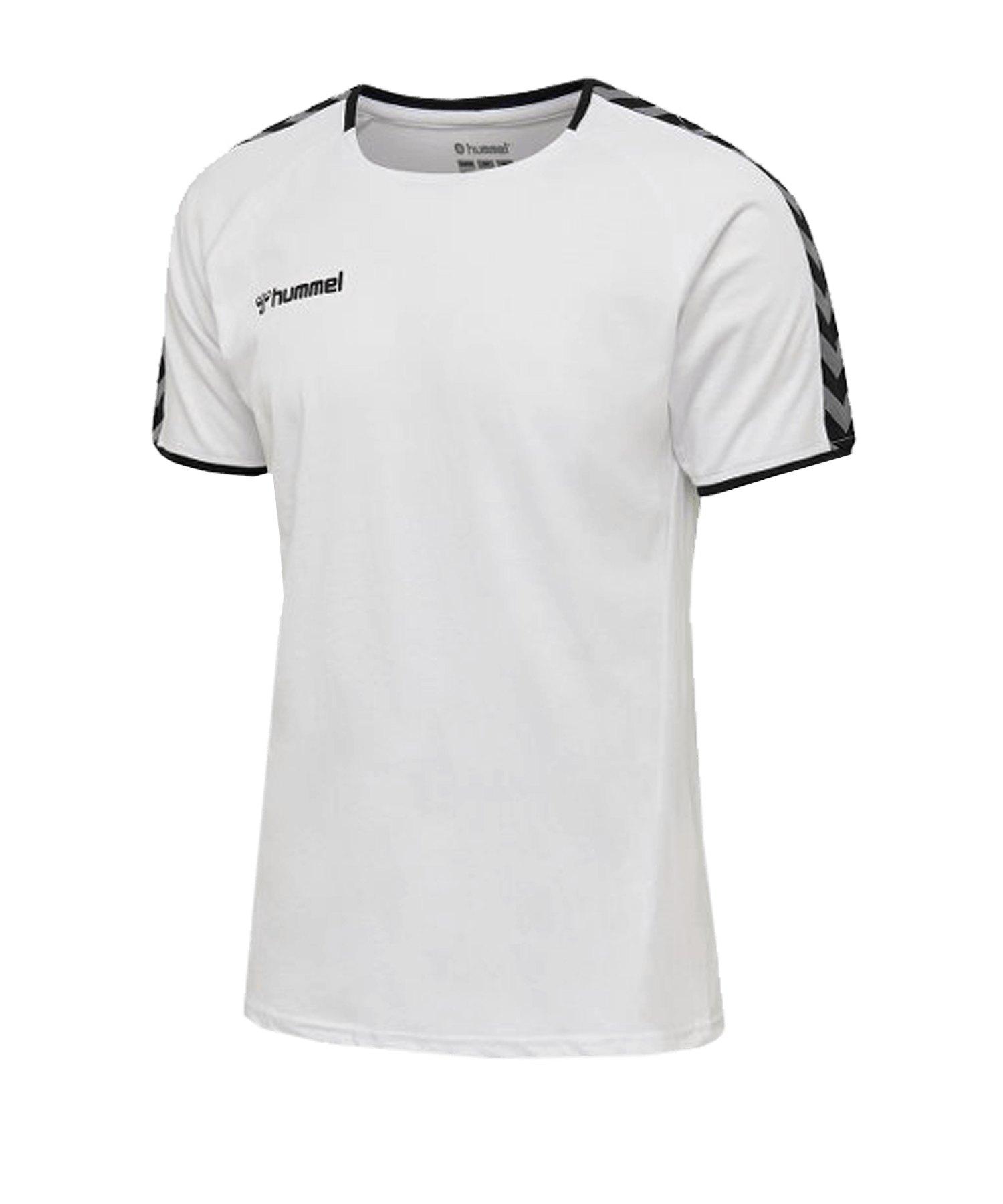 Hummel Authentic Trainingsshirt Weiss F9001 - weiss