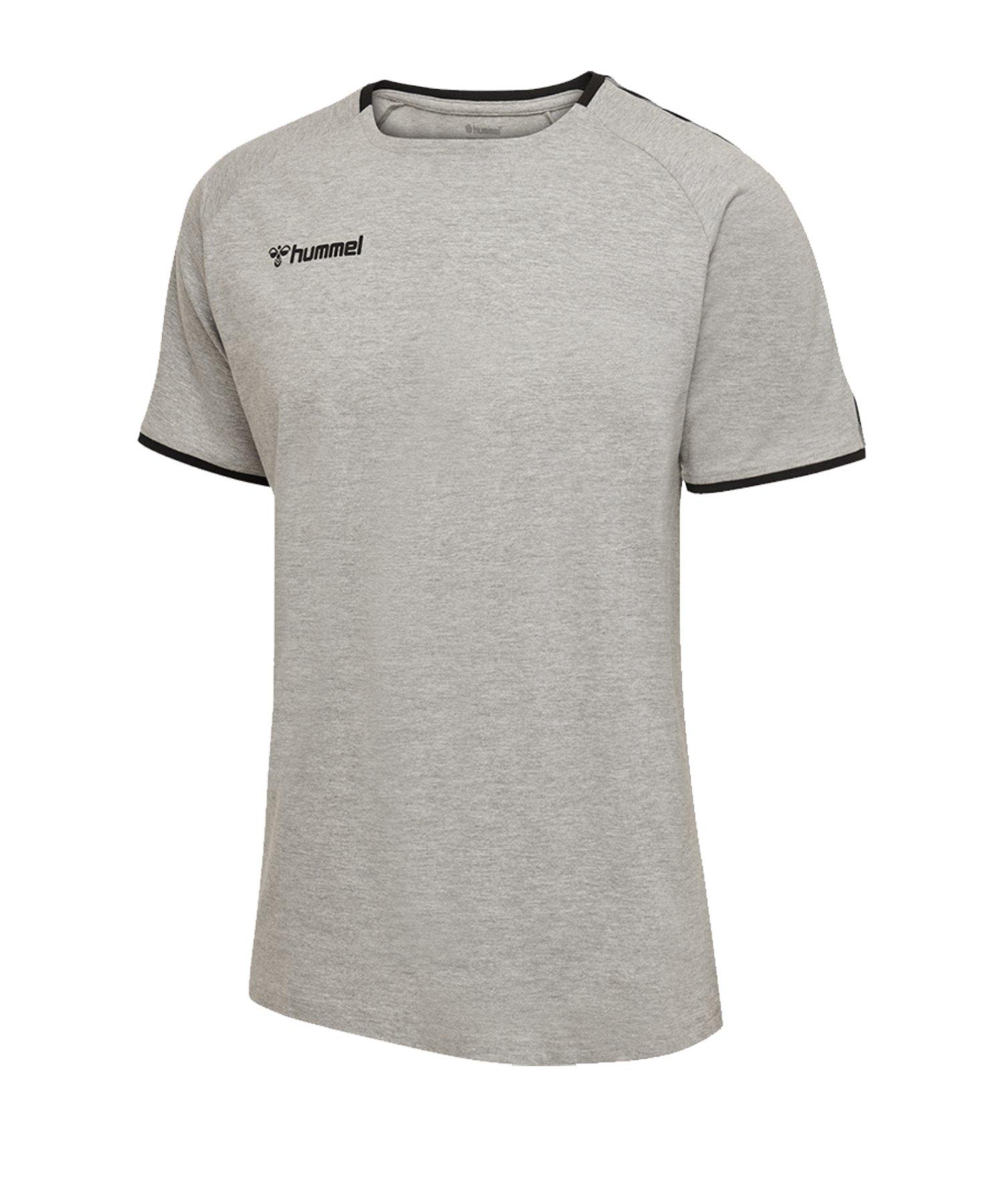 Hummel Authentic Trainingsshirt Kids Grau F2006 - grau