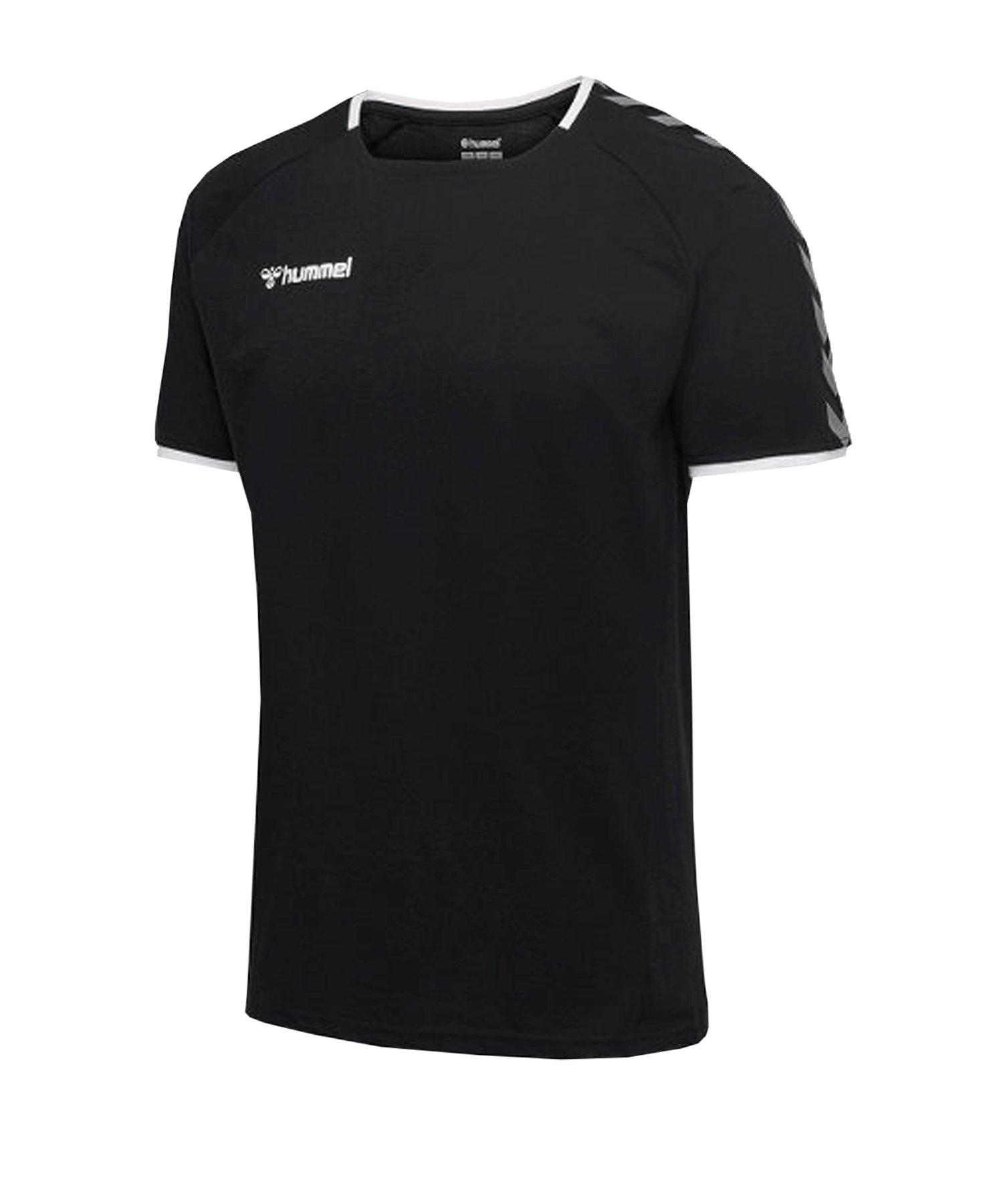 Hummel Authentic Trainingsshirt Kids Schwarz F2114 - schwarz