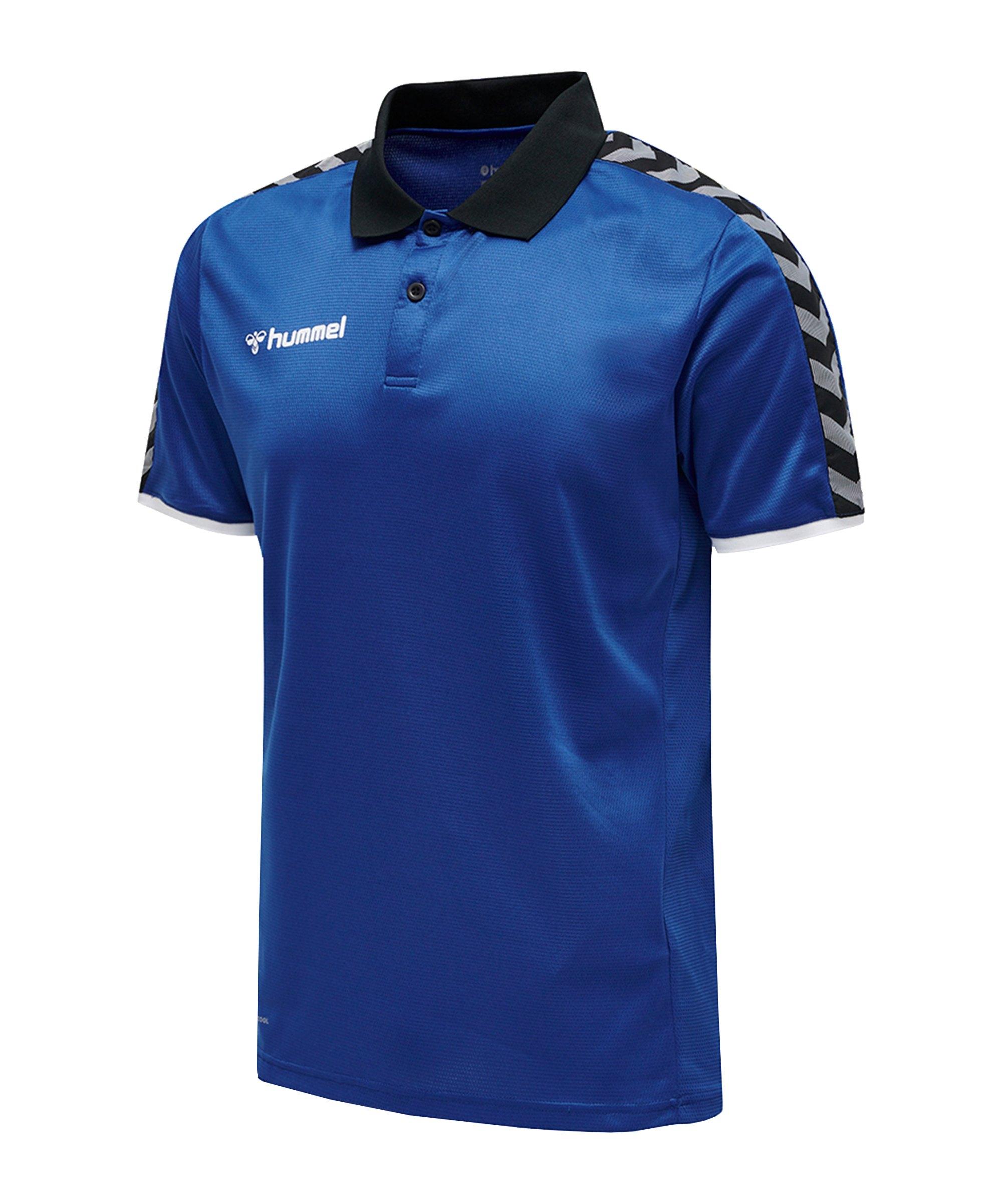 Hummel Authentic Functional Poloshirt F7045 - blau