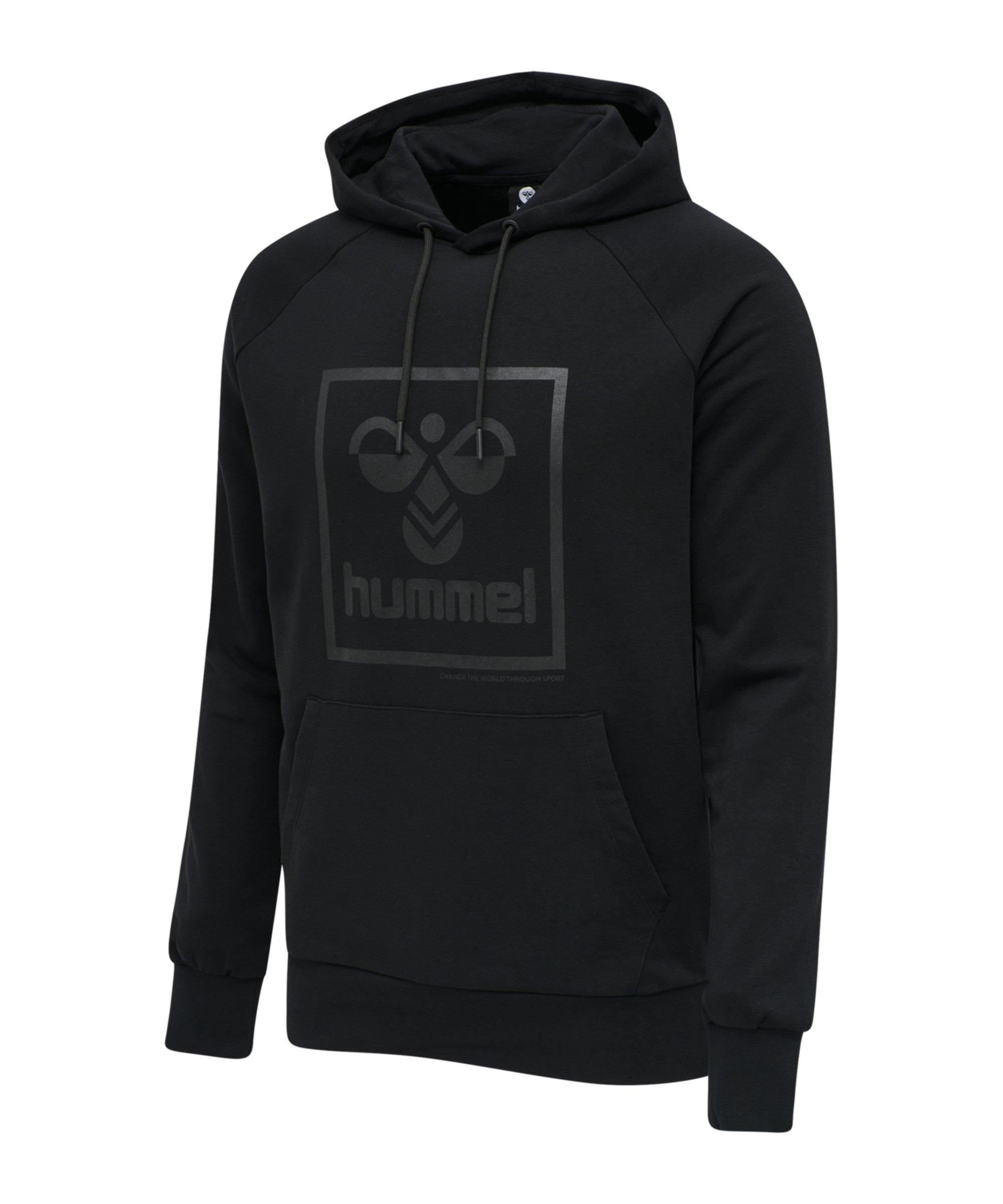 Hummel Isam Hoody Schwarz F2001 - schwarz