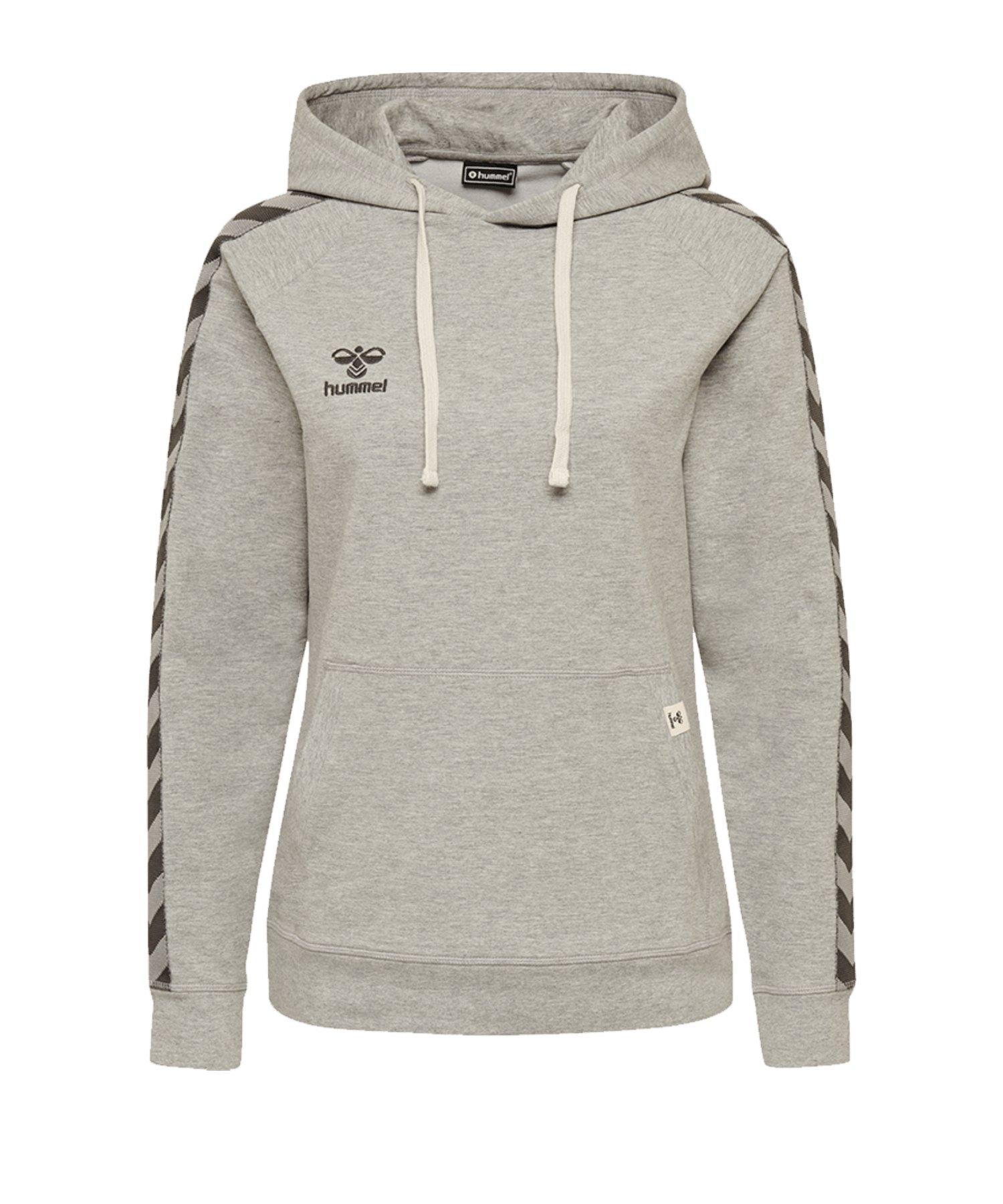 Hummel Move Classic Kapuzensweatshirt Damen F2006 - grau