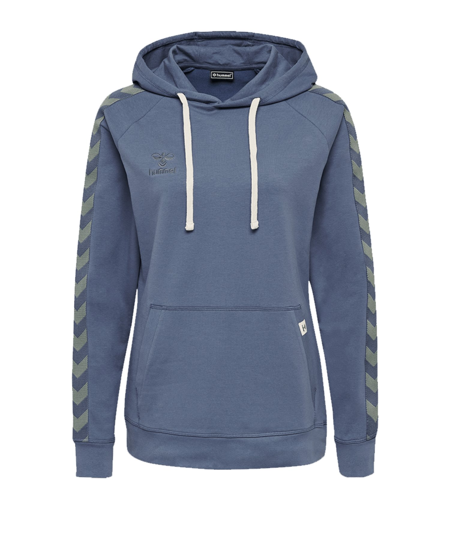 Hummel Move Classic Kapuzensweatshirt Damen F7050 - blau