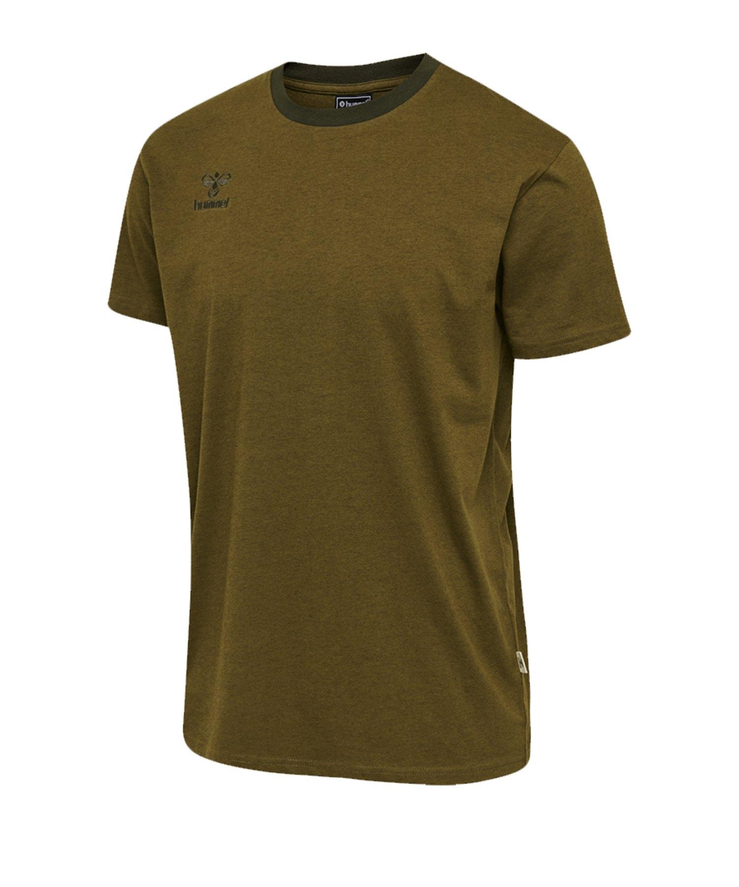 Hummel Move T-Shirt Grün F6086 - gruen