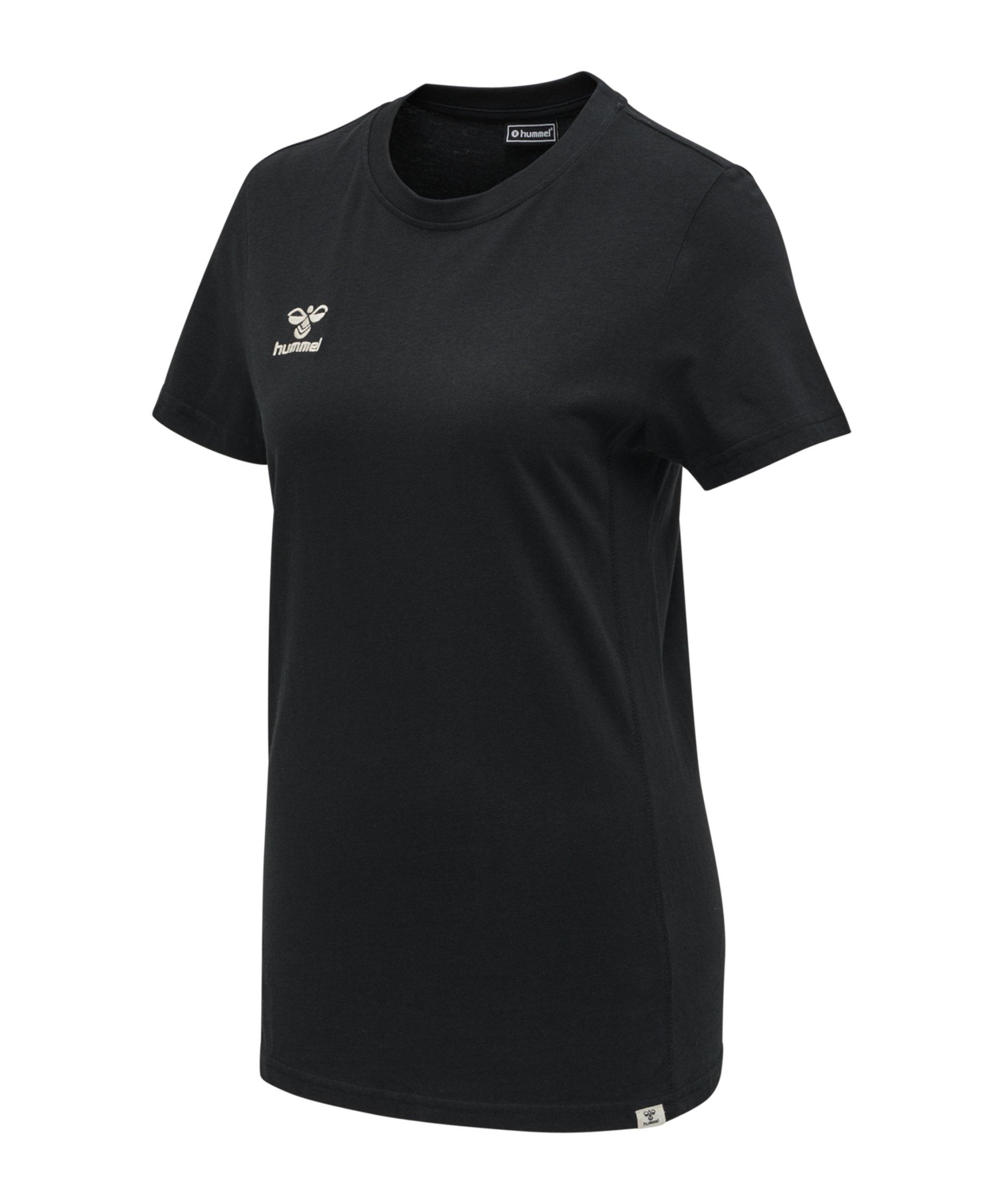 Hummel Move T-Shirt Damen Schwarz F2001 - Schwarz
