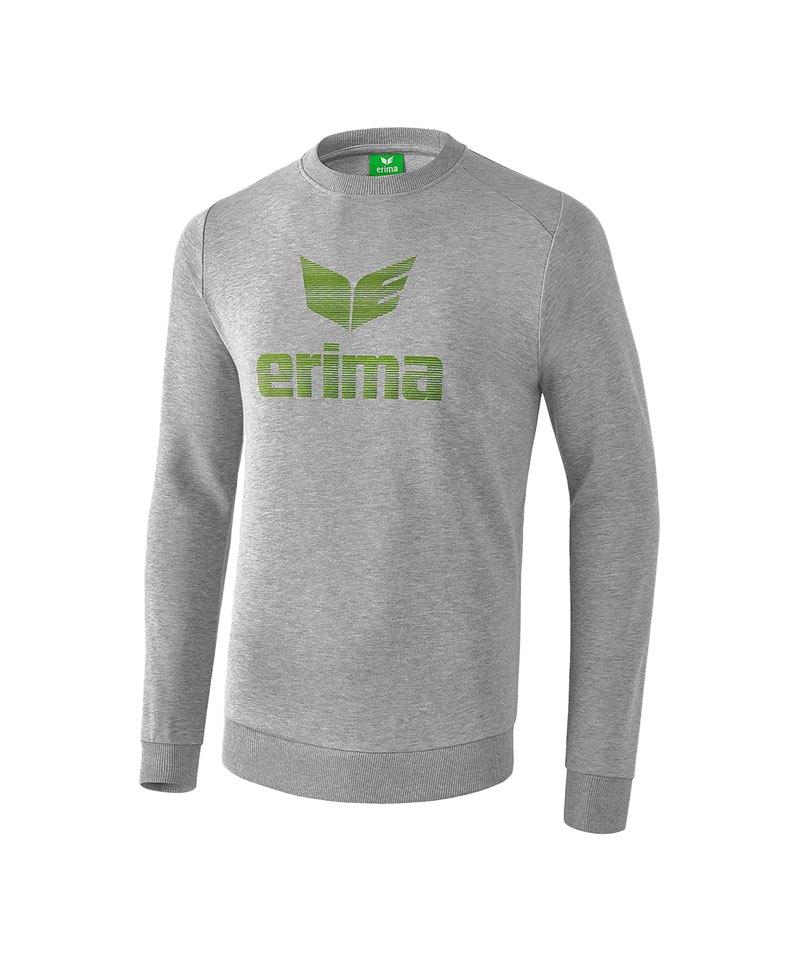 Erima Essential Sweatshirt Grau - grau
