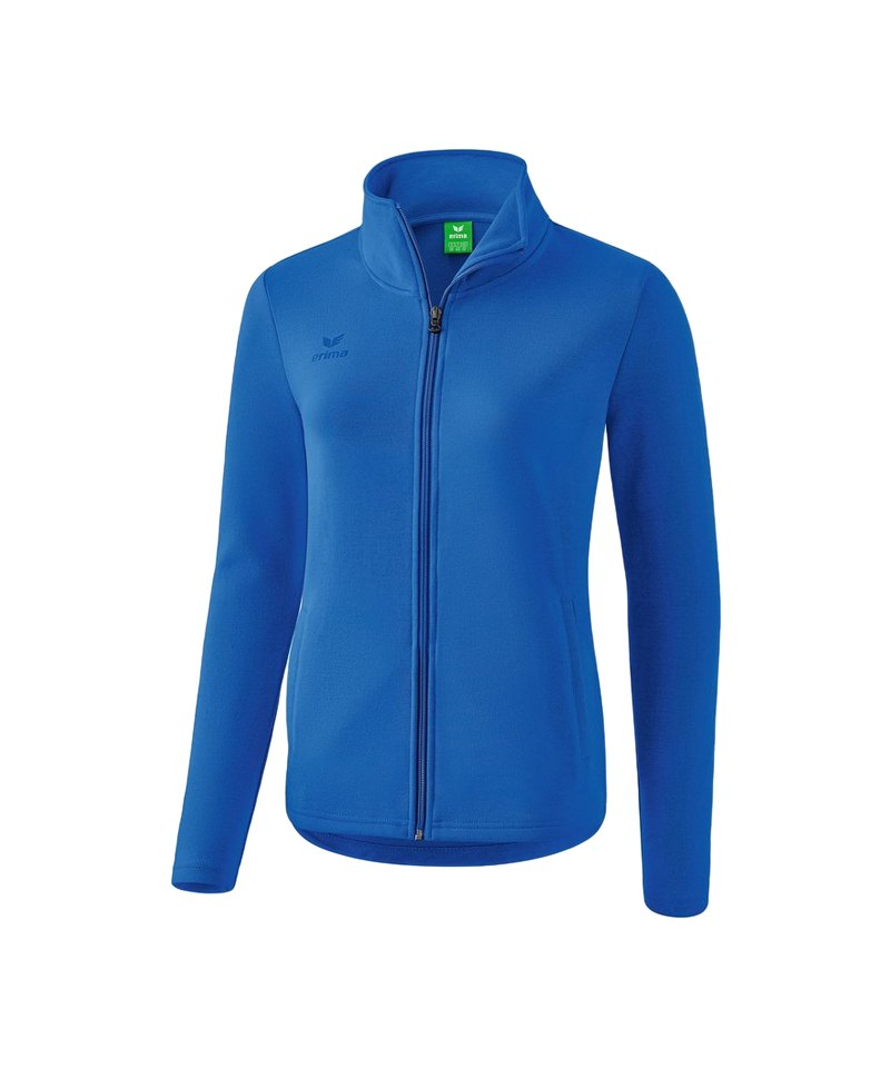 Erima Casual Basics Sweatjacke Damen Blau - blau