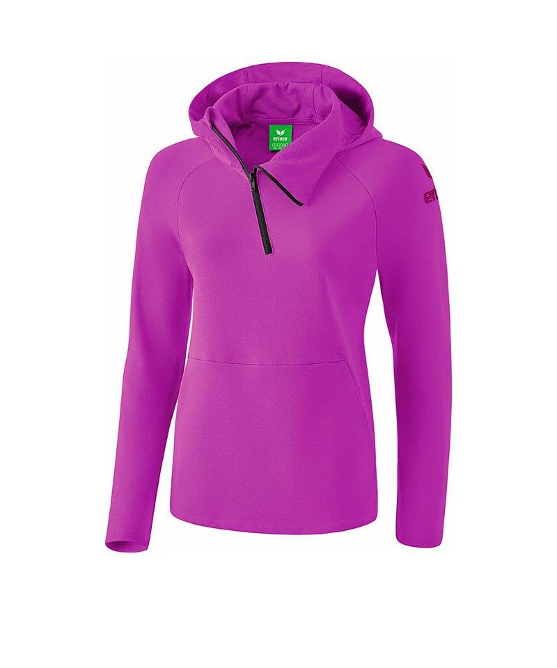 Erima Essential Hoody Sweatshirt Kids Lila - lila