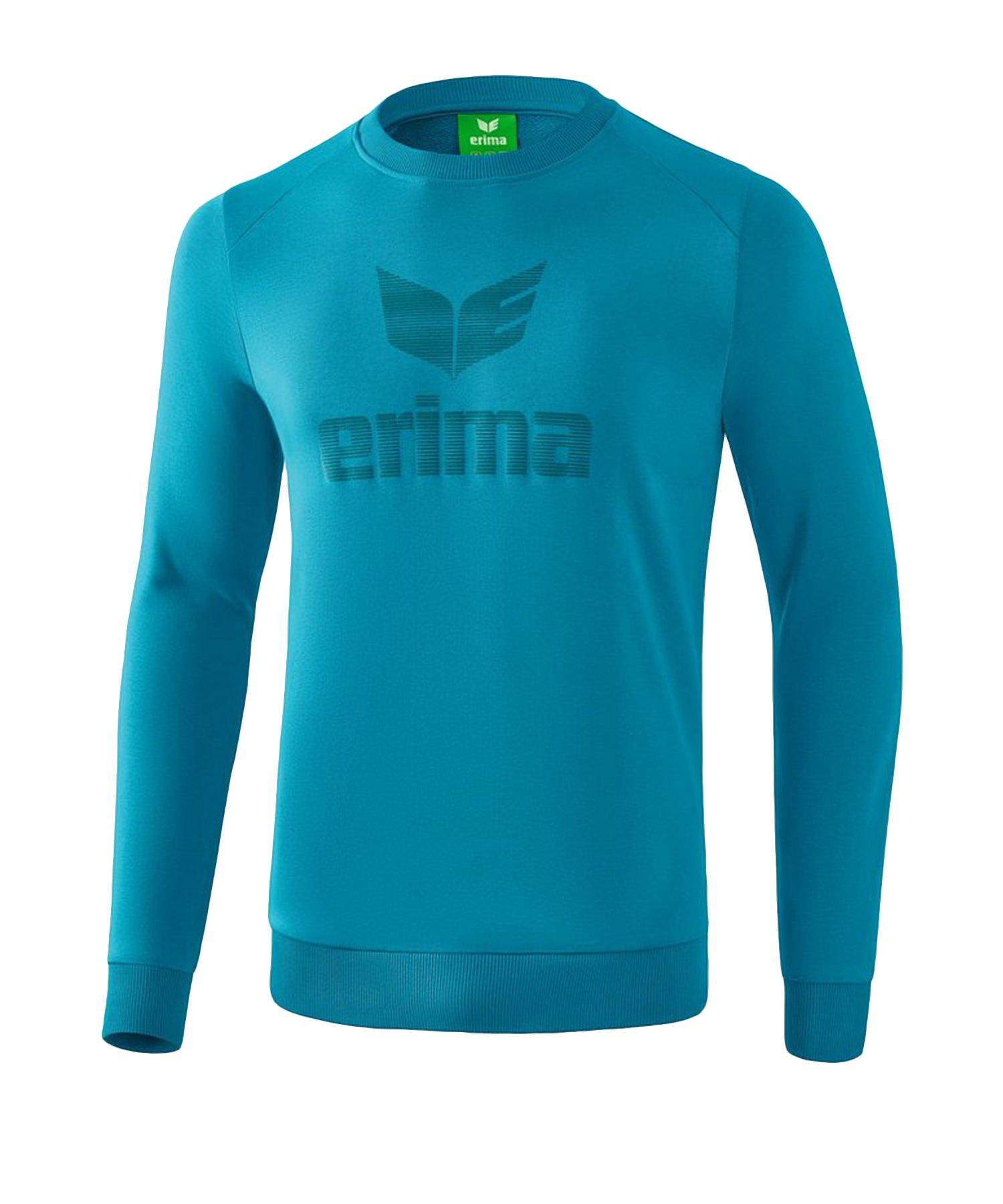 Erima Essential Sweatshirt Kids Blau - Blau