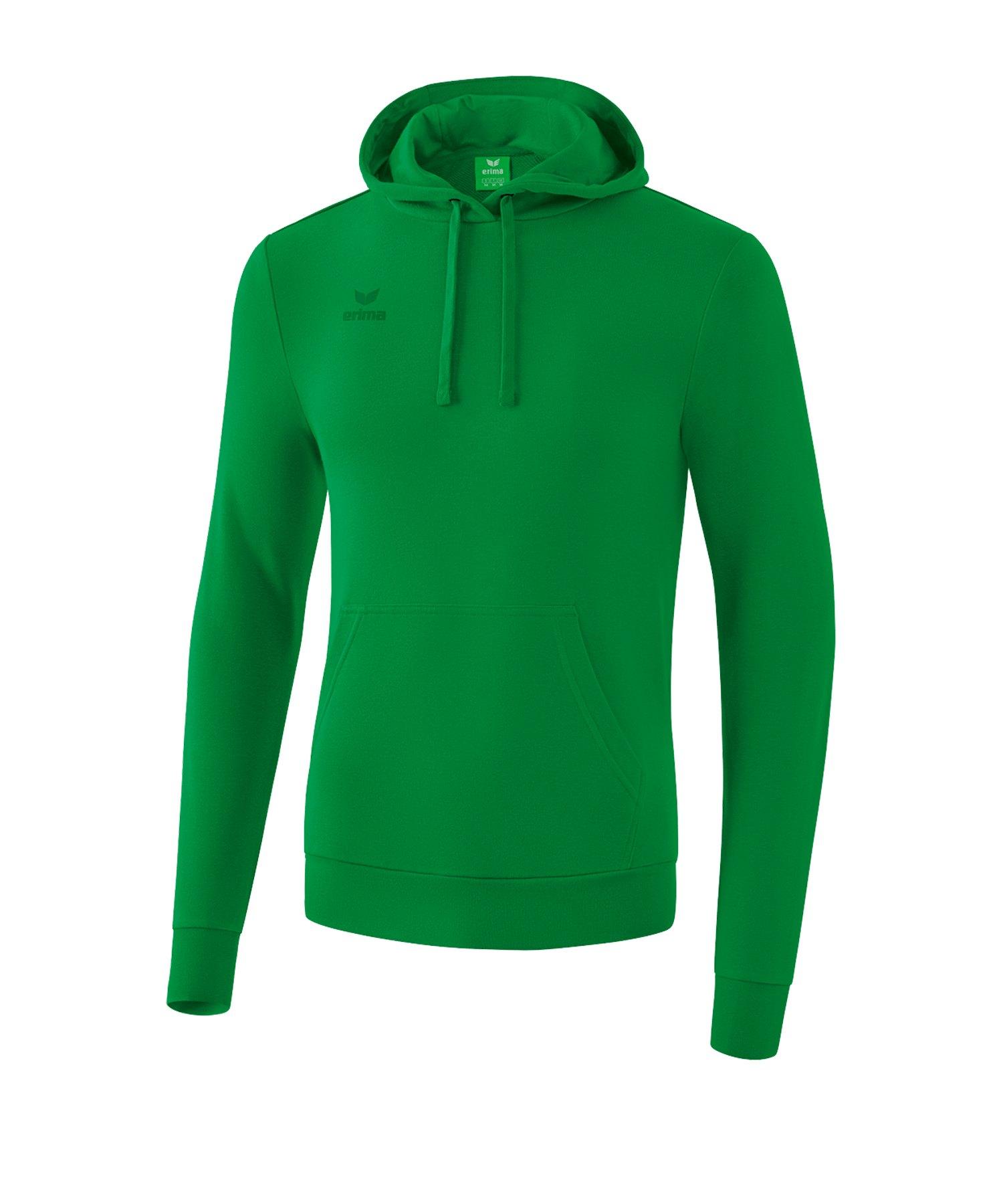 Erima Basic Hoody Grün - gruen