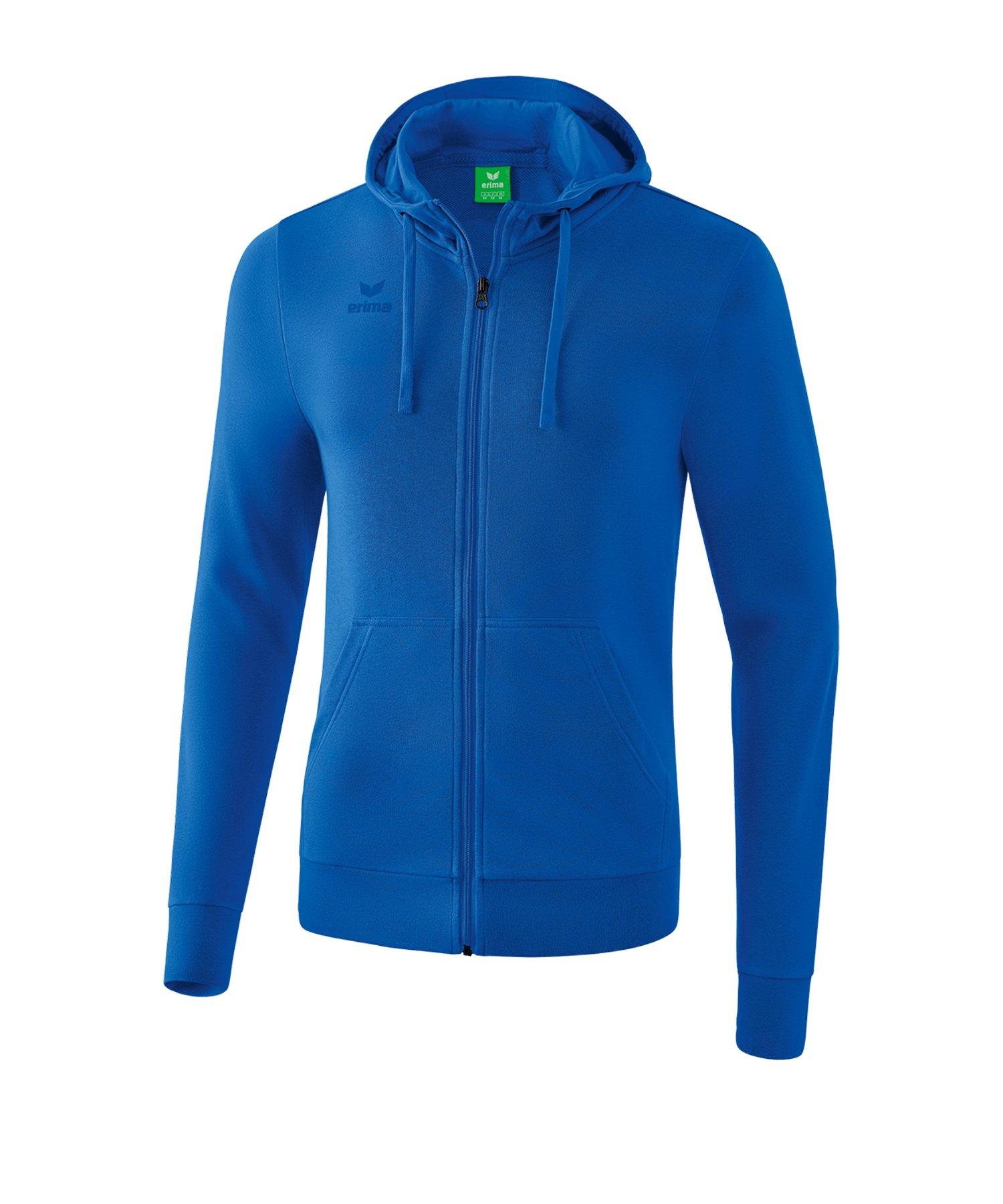 Erima Basic Kapuzenjacke Blau - blau