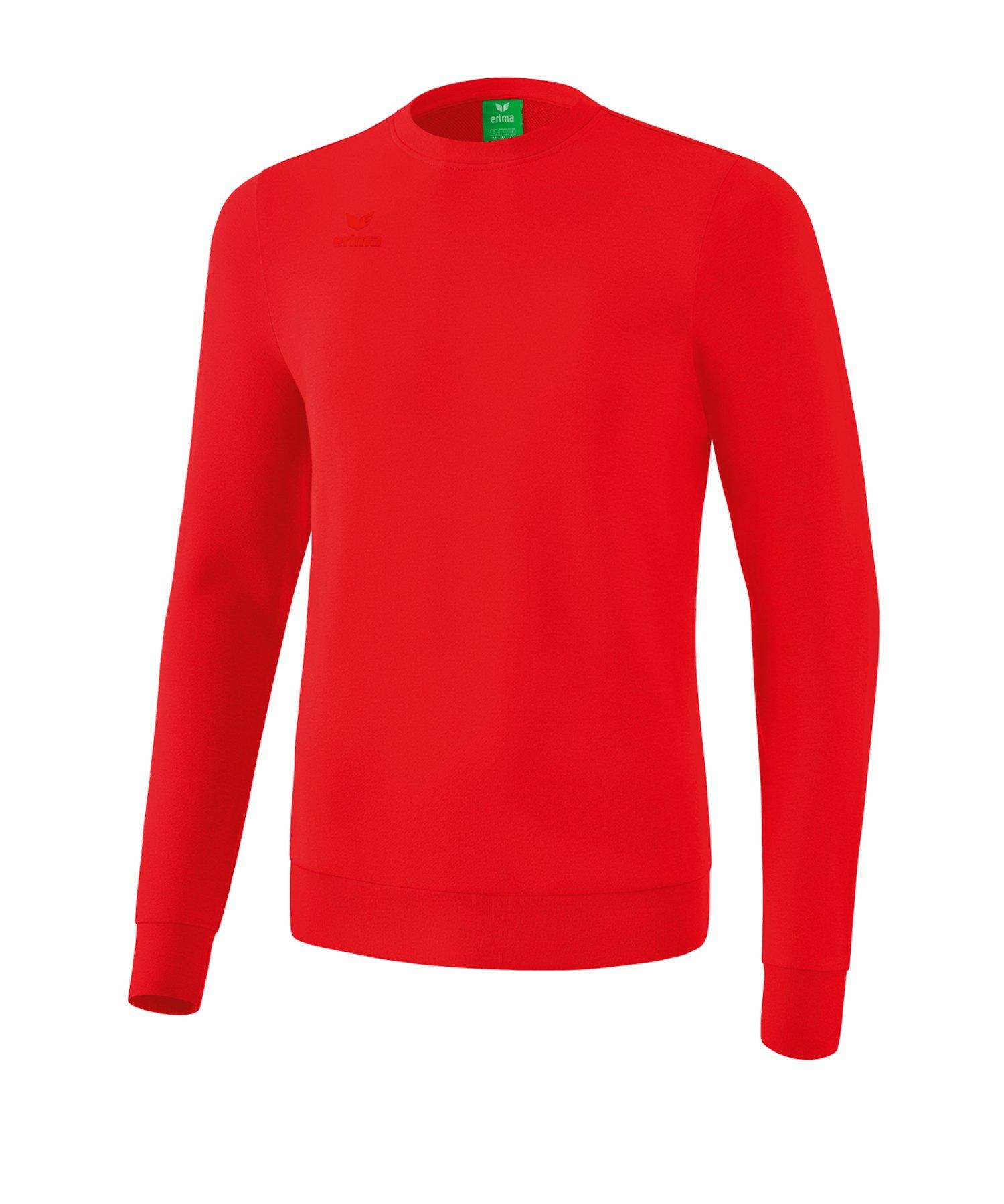 Erima Basic Sweatshirt Kids Rot - rot