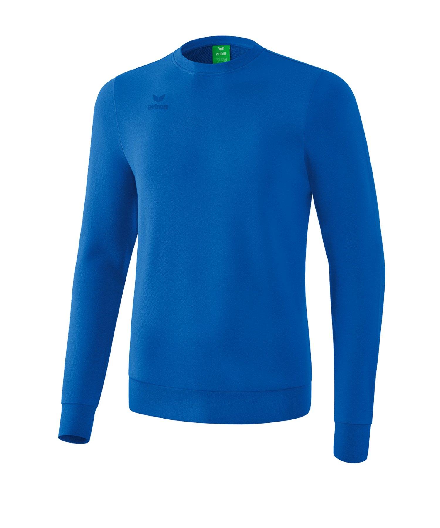 Erima Basic Sweatshirt Blau - blau