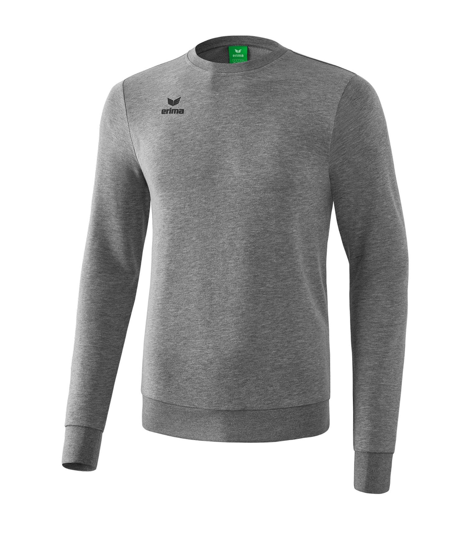 Erima Basic Sweatshirt Kids Grau - grau