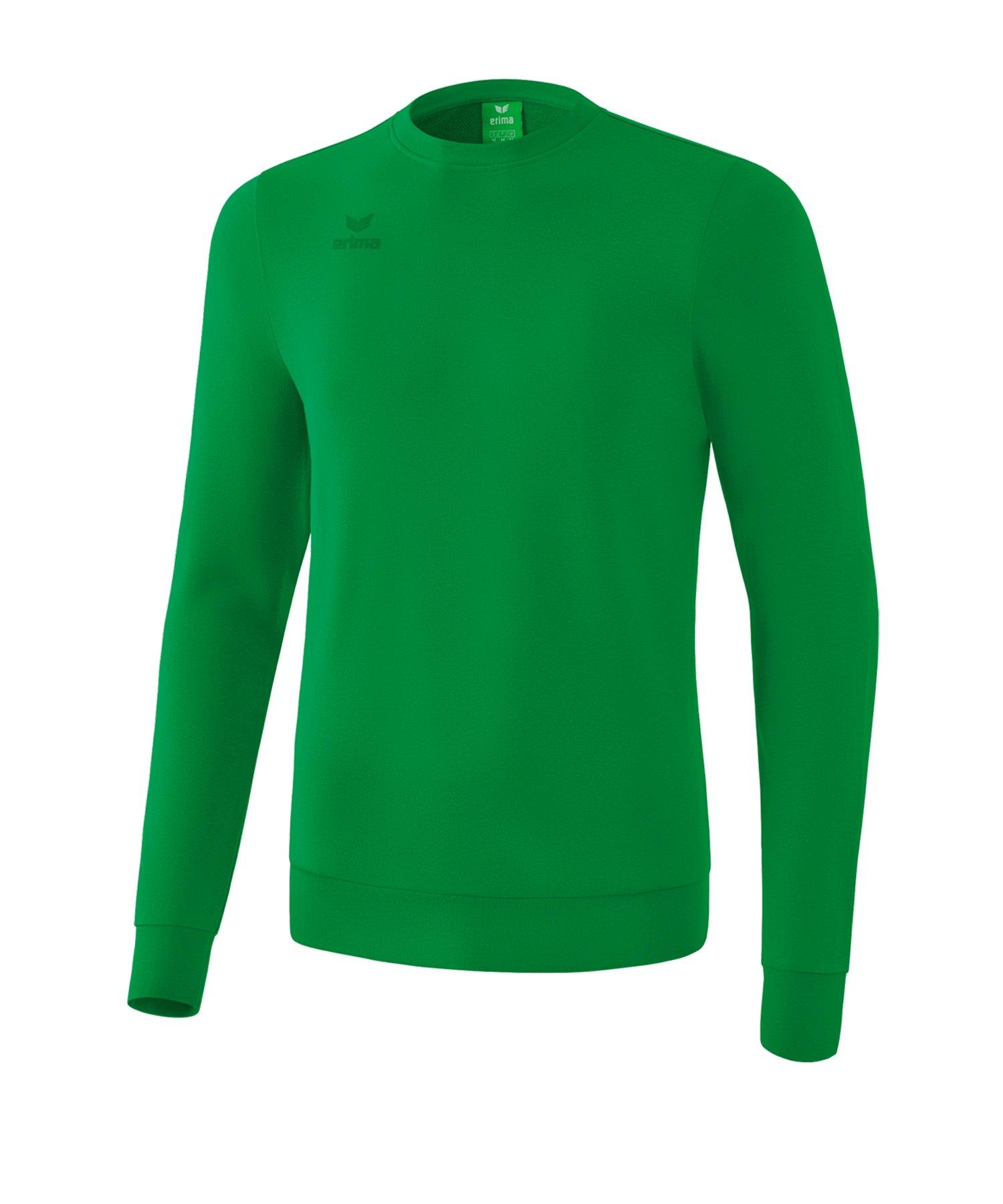 Erima Basic Sweatshirt Grün - gruen