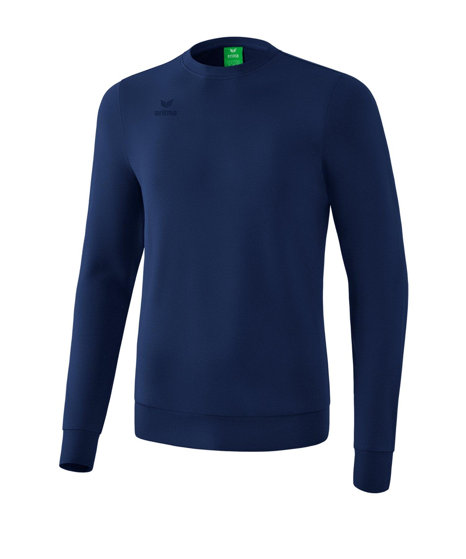 Erima Basic Sweatshirt Kids Dunkelblau - blau