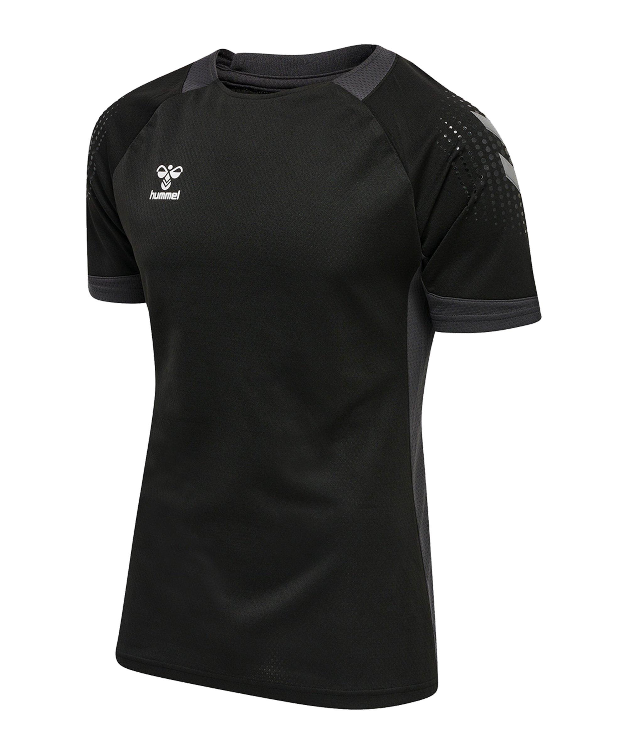 Hummel hmlLEAD Trainingsshirt Schwarz F2001 - schwarz