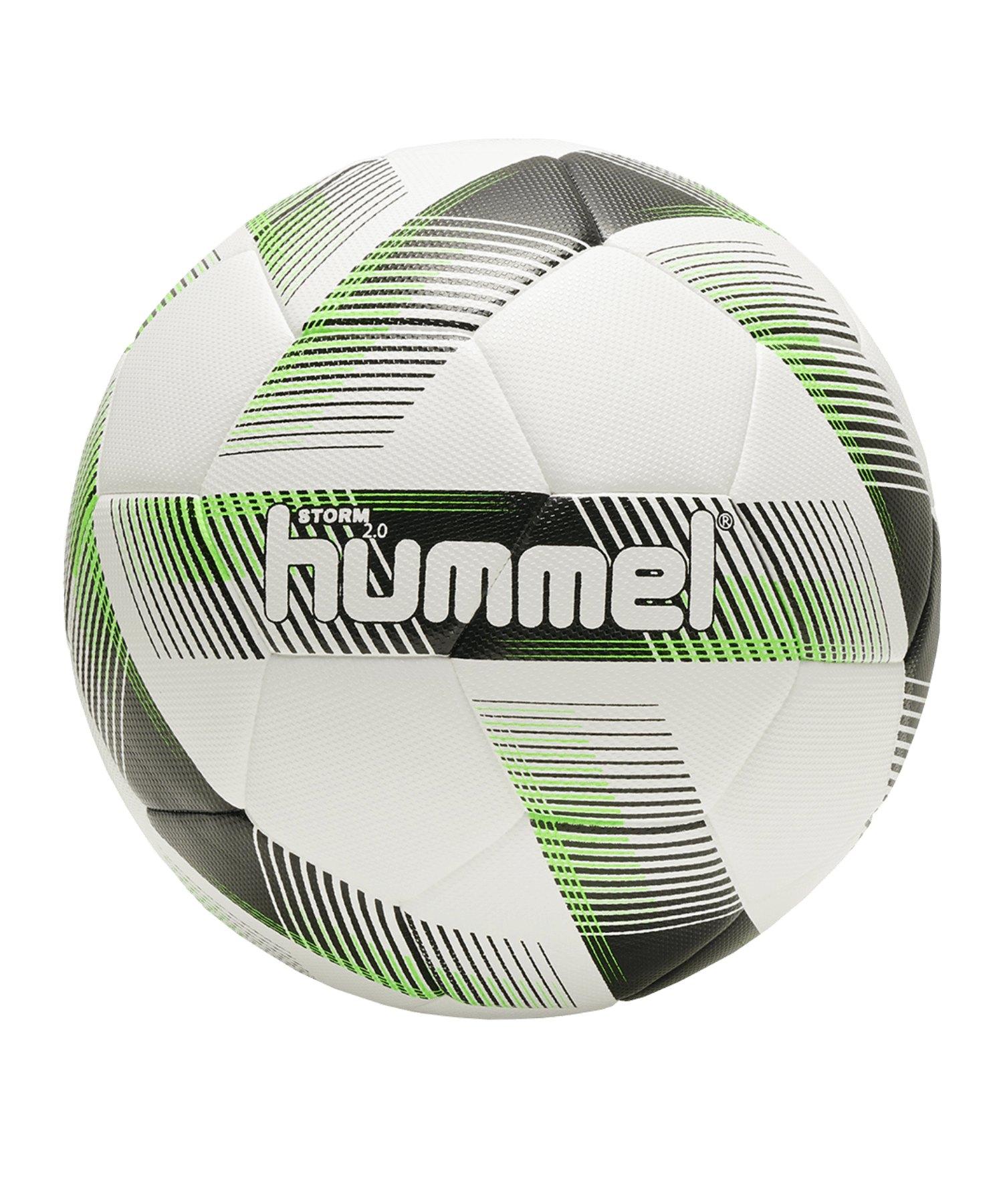 Hummel Storm 2.0 Trainingsball Weiss F9274 - Weiss