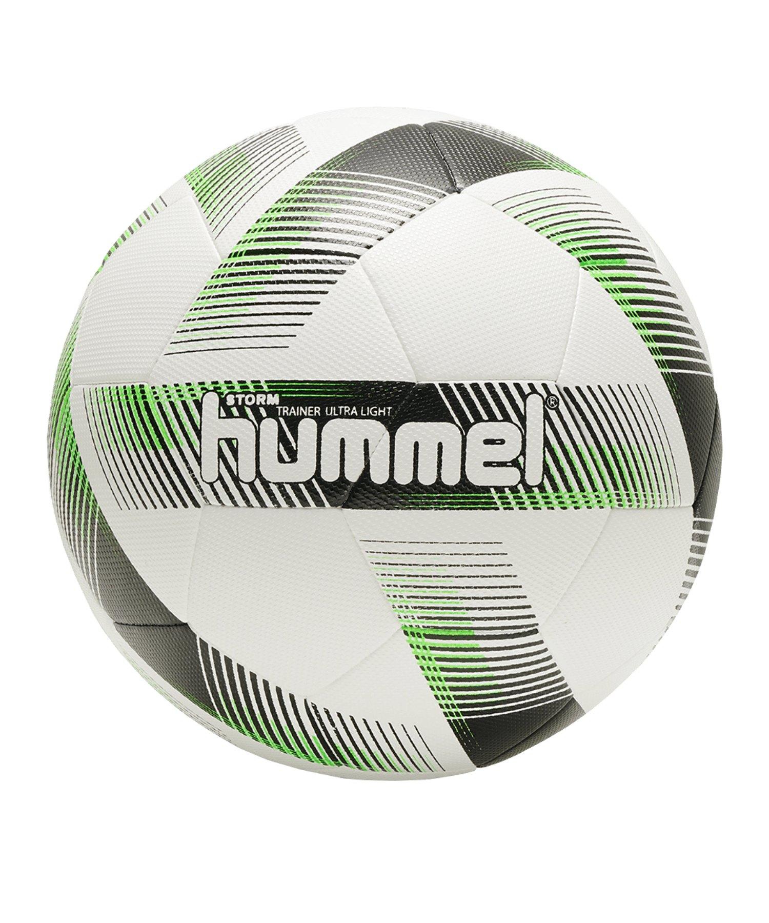 Hummel Storm Trainer Ultra Light 290 Gramm Fussball F9274 - Weiss