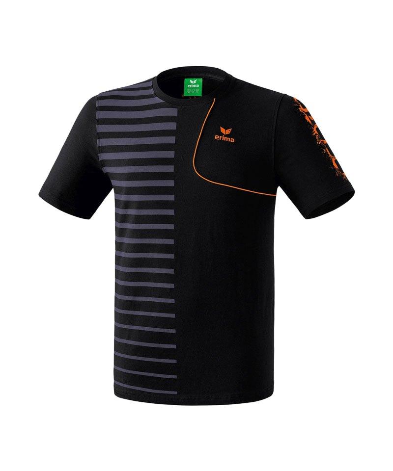 Erima Player 4.0 T-Shirt Kids Schwarz - schwarz