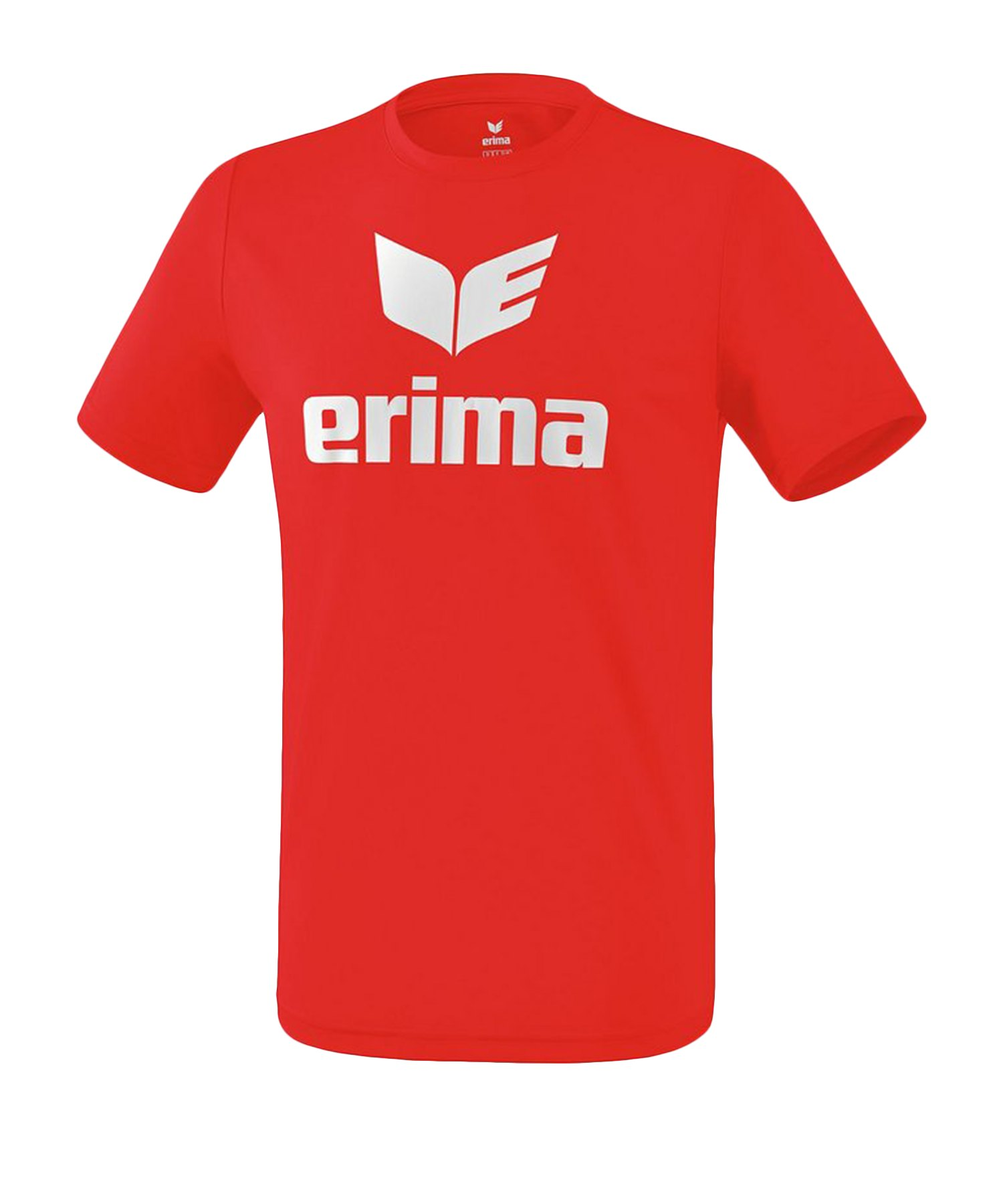 Erima Funktions Promo T-Shirt Rot Weiss - Rot