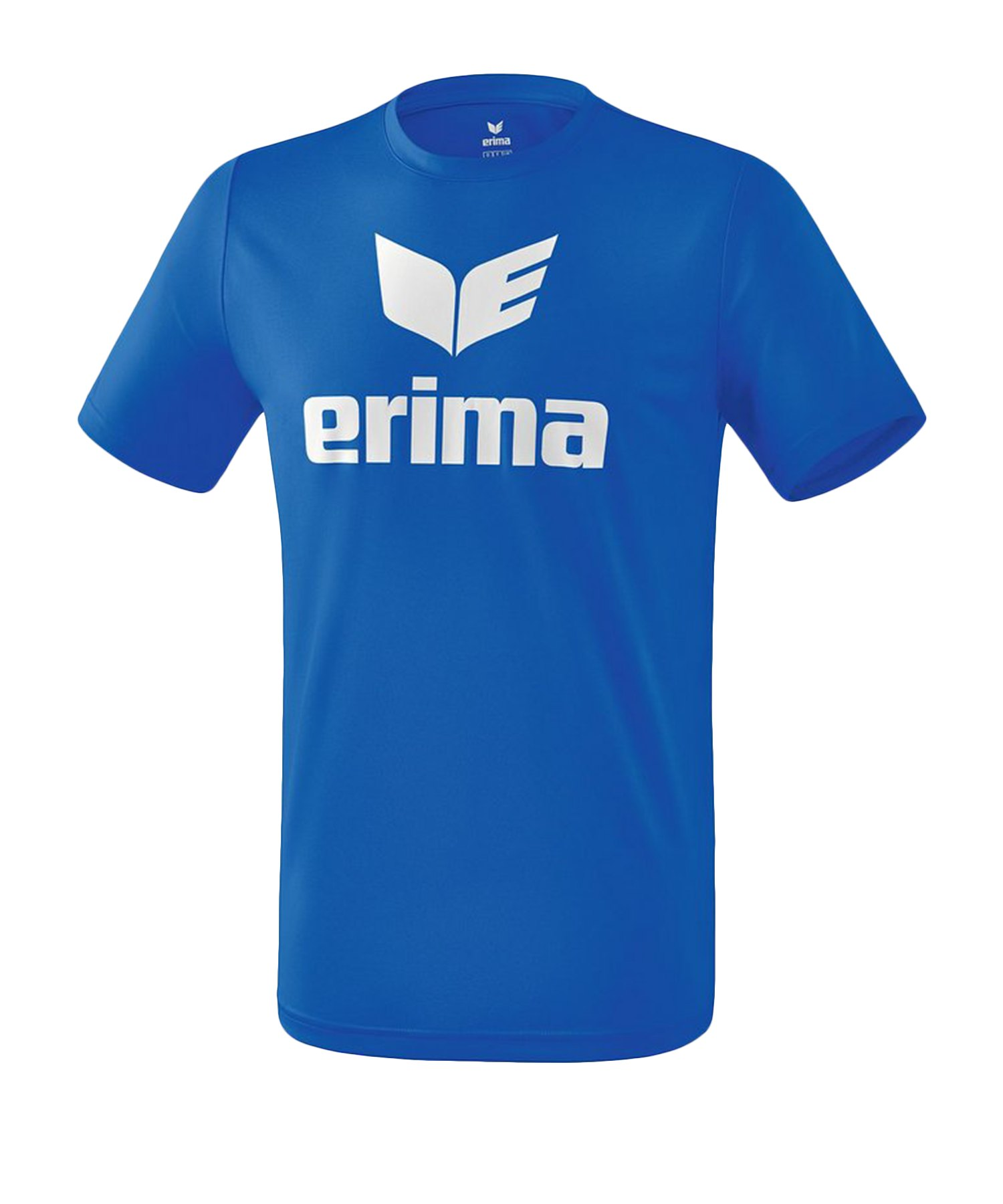 Erima Funktions Promo T-Shirt Kids Blau Weiss - Blau
