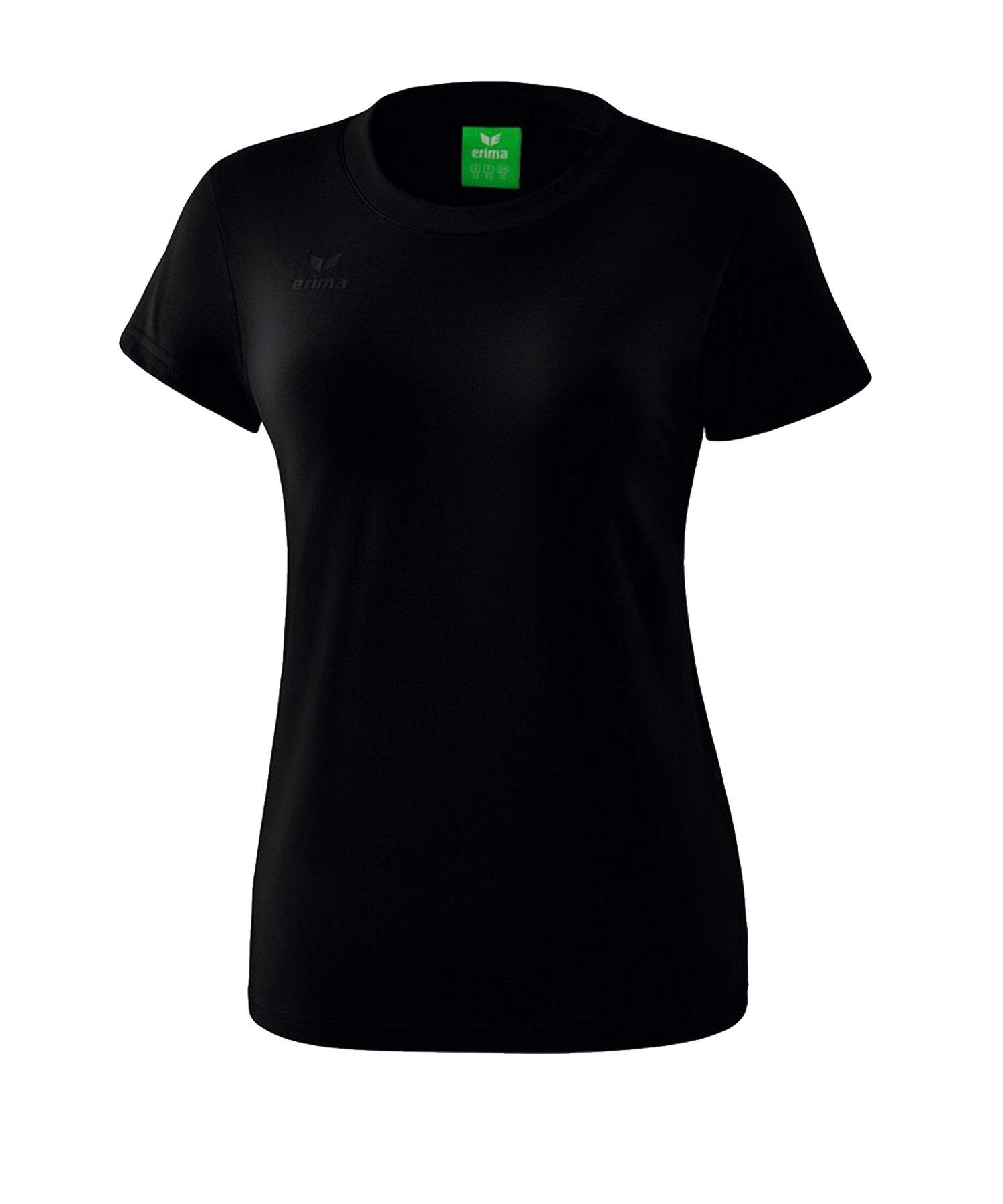 Erima Style T-Shirt Damen Schwarz - Schwarz