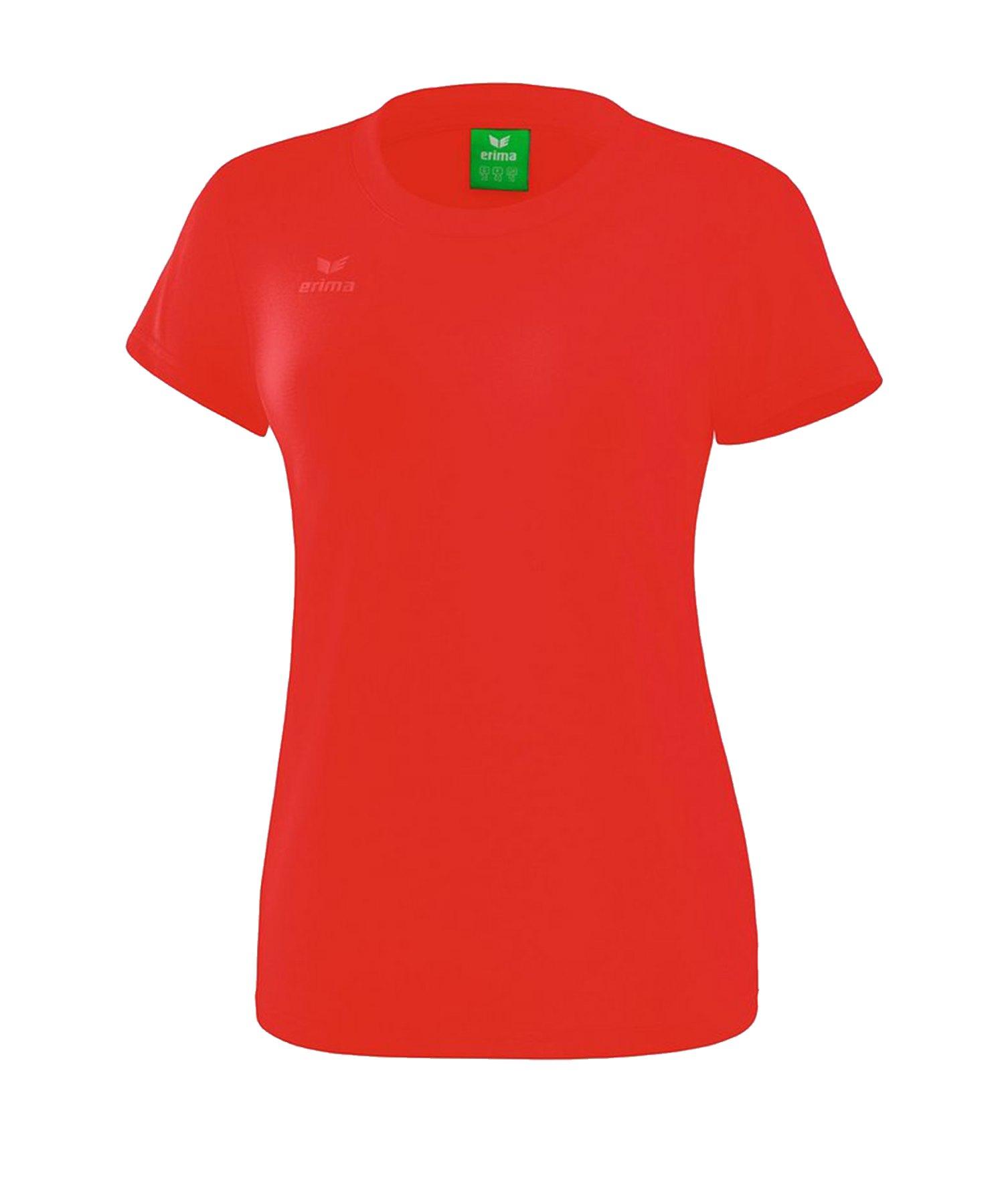 Erima Style T-Shirt Damen Rot - Rot
