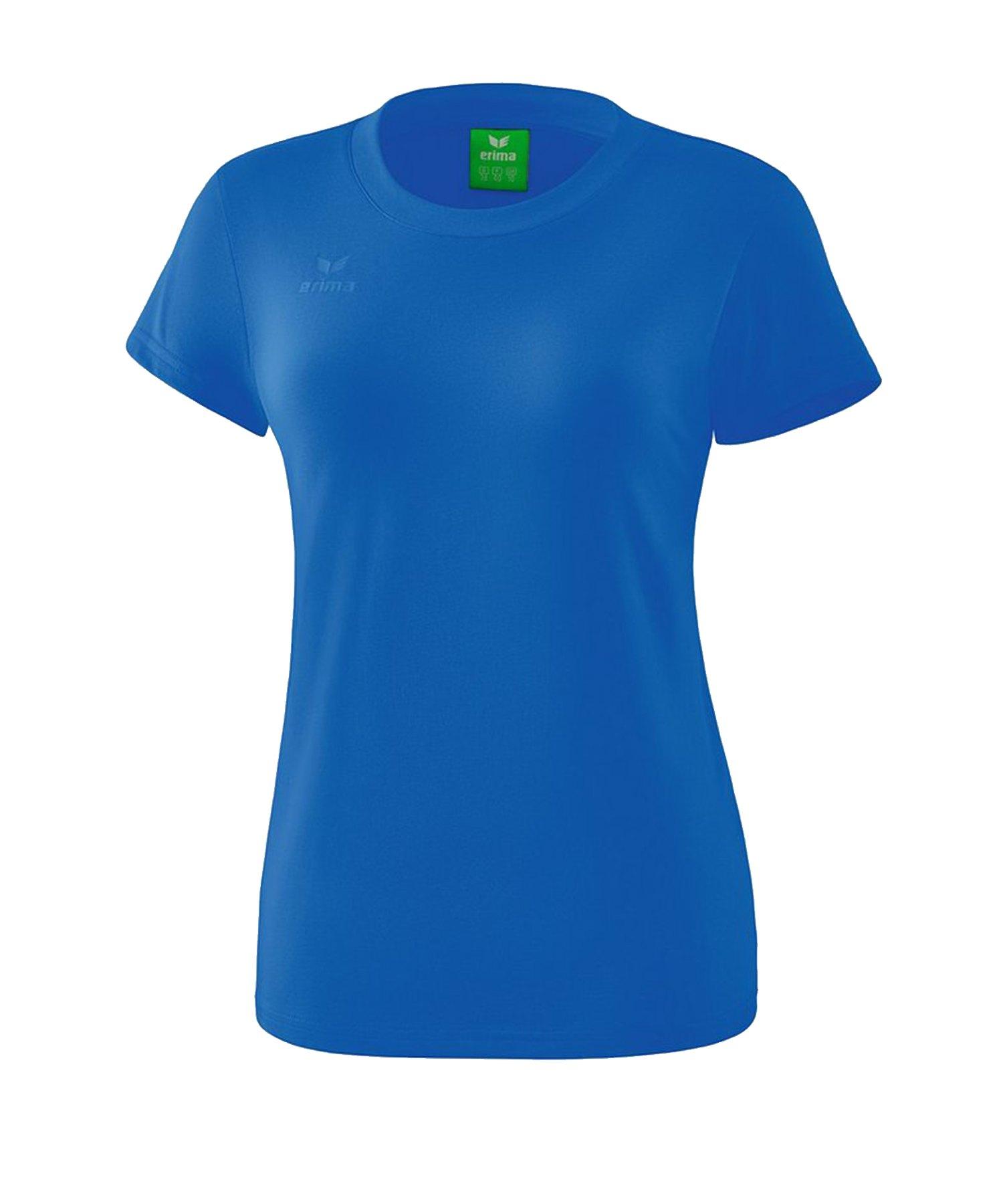 Erima Style T-Shirt Damen Blau - Blau