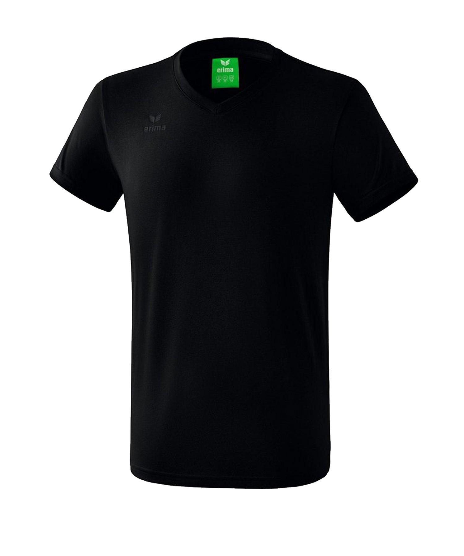 Erima Style T-Shirt Schwarz - Schwarz