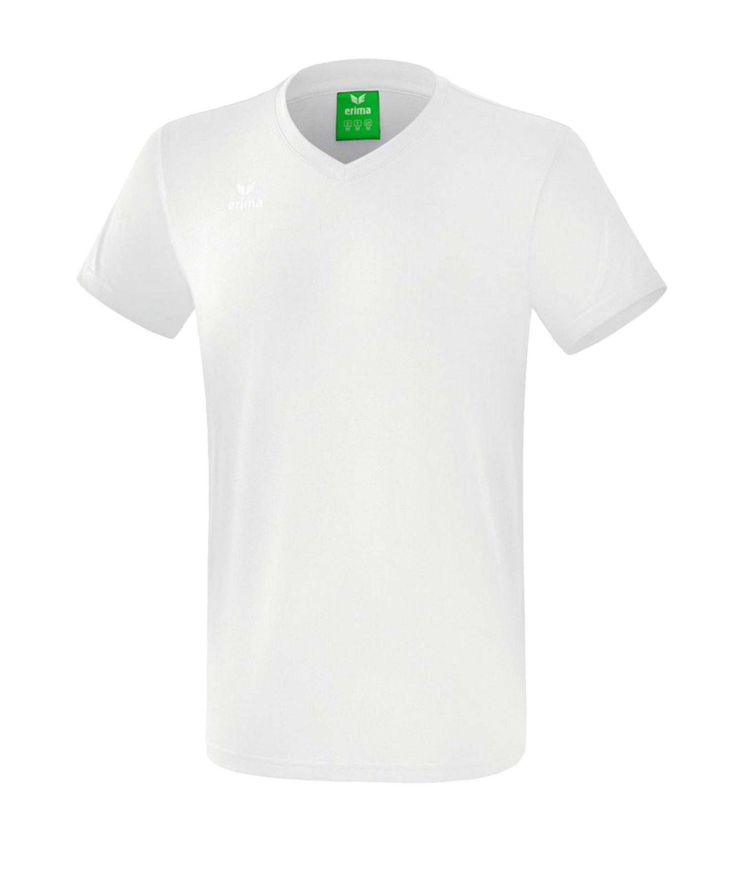 Erima Style T-Shirt Kids Weiss - Weiss