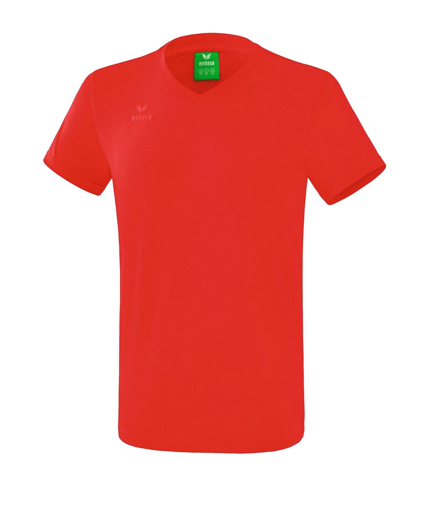 Erima Style T-Shirt Rot - Rot