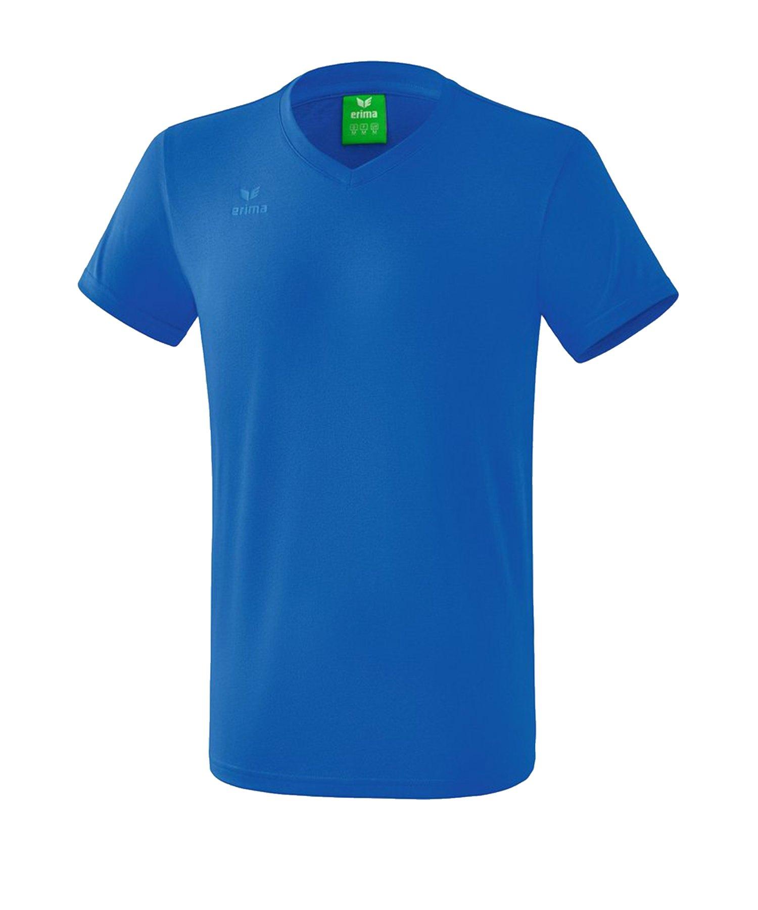 Erima Style T-Shirt Kids Blau - Blau