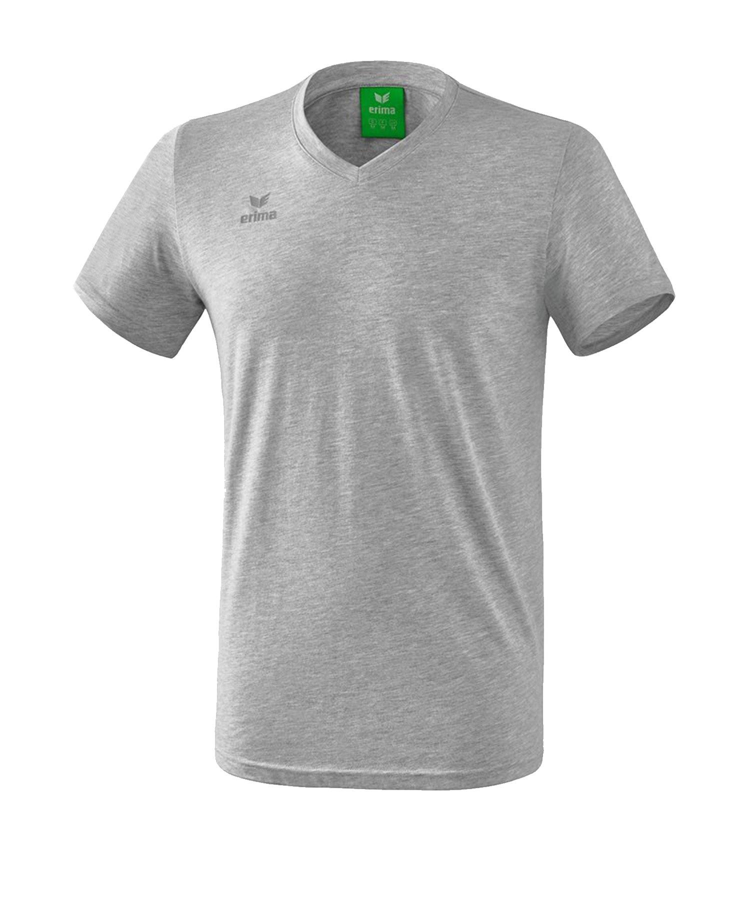 Erima Style T-Shirt Kids Grau - Grau