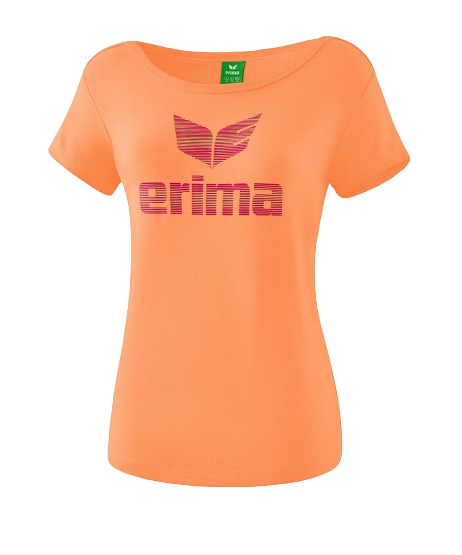 Erima Essential T-Shirt Damen Orange - Orange