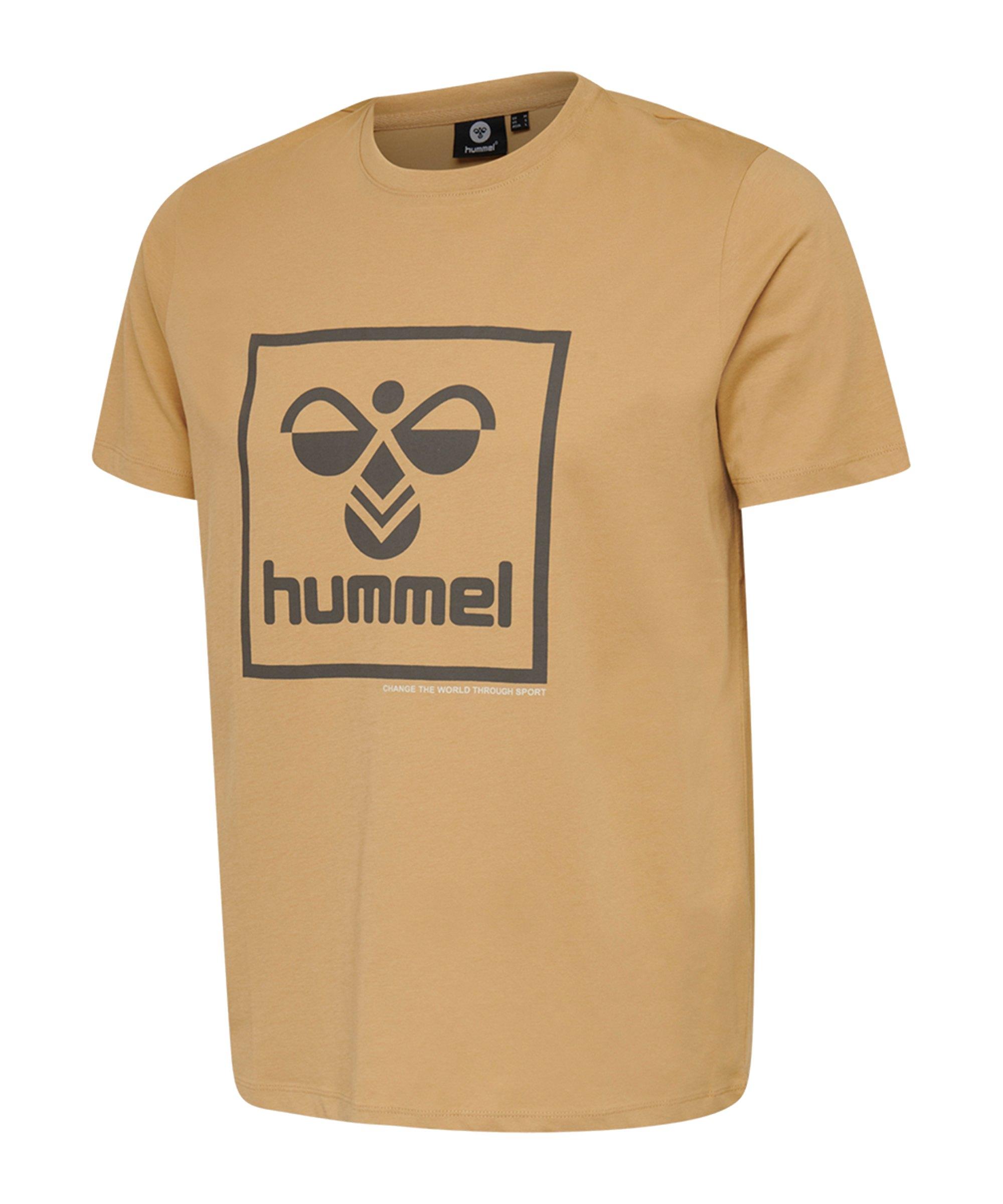 Hummel Isam T-shirt Lark F8024 - orange